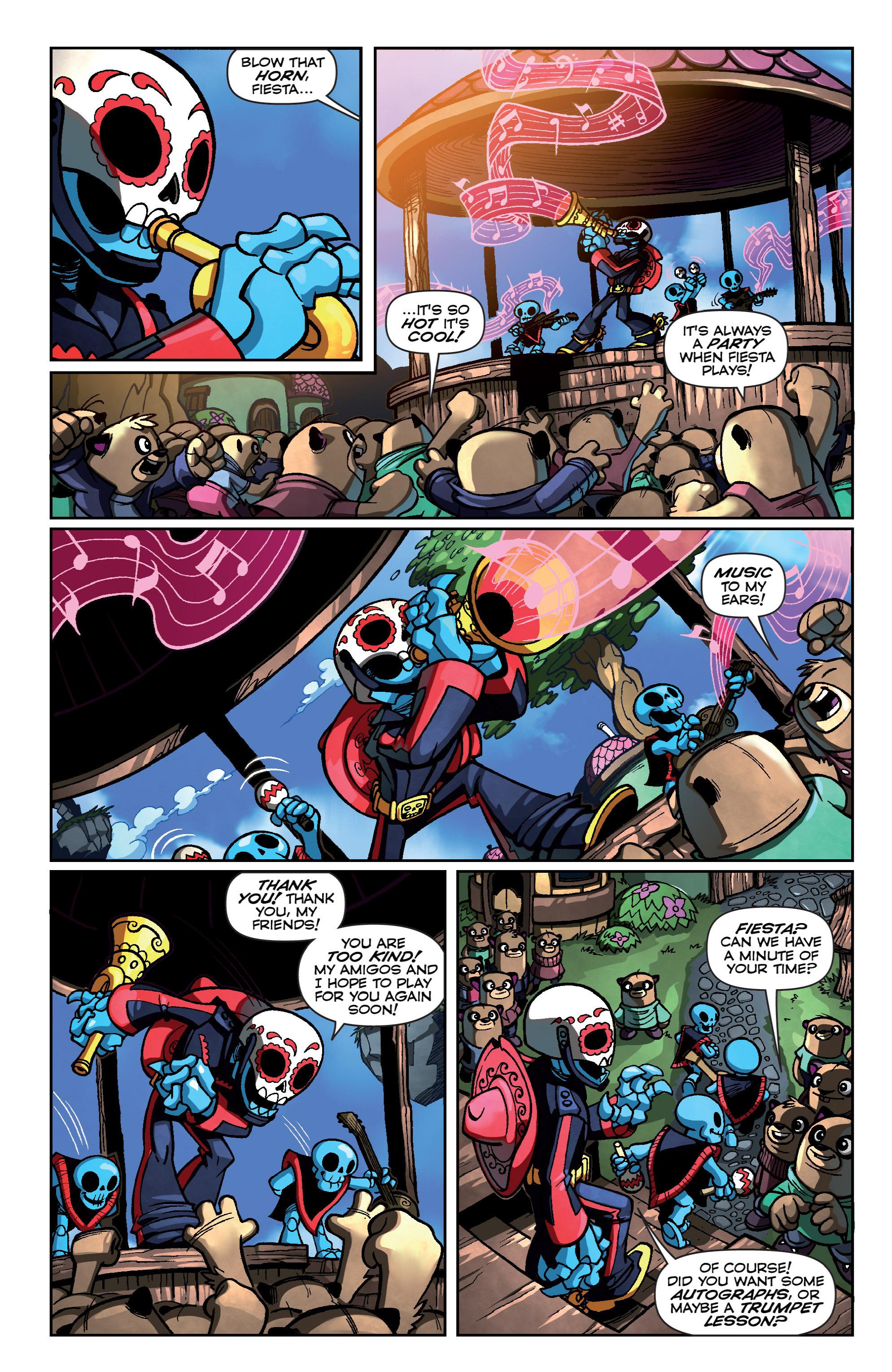 Read online Skylanders Superchargers comic -  Issue #4 - 7