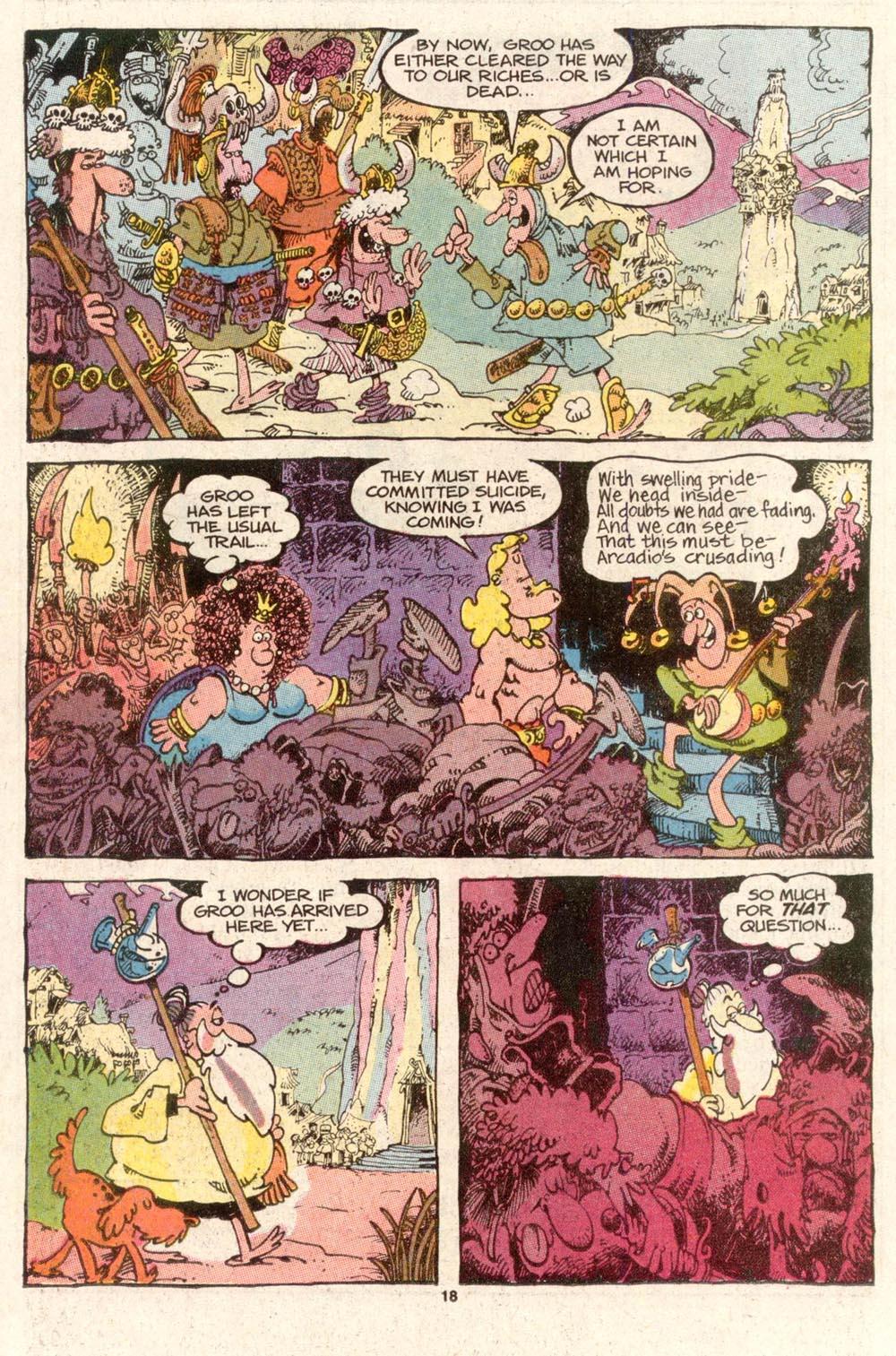 Read online Sergio Aragonés Groo the Wanderer comic -  Issue #47 - 18