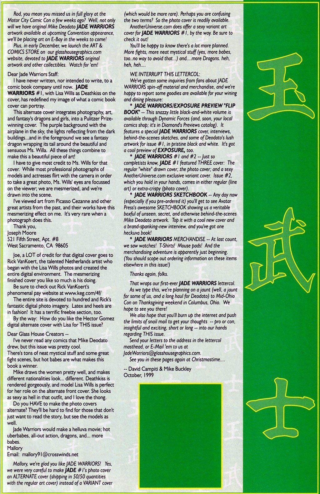 Read online Jade Warriors comic -  Issue #2 - 23