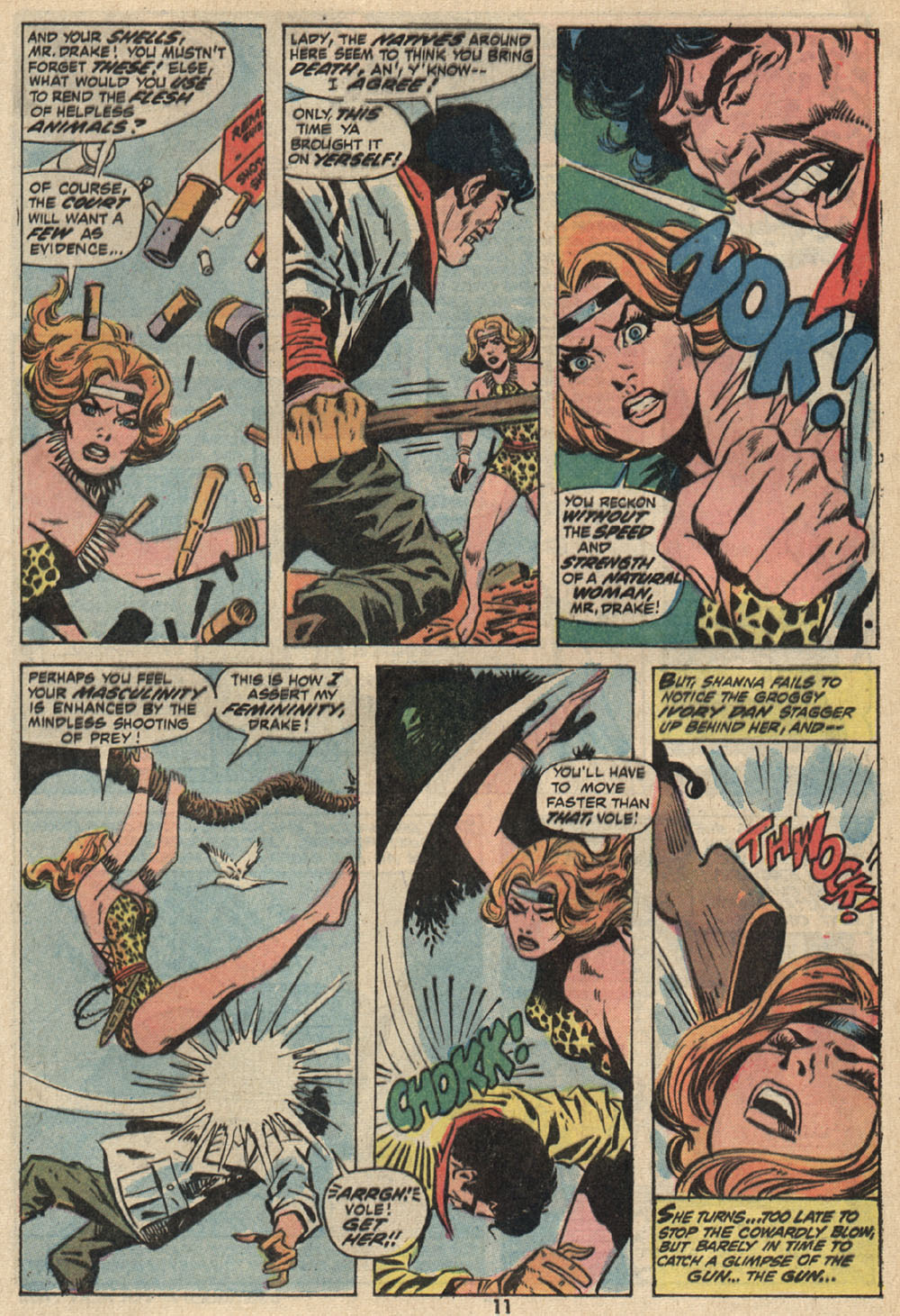 Read online Shanna, the She-Devil (1972) comic -  Issue #1 - 9