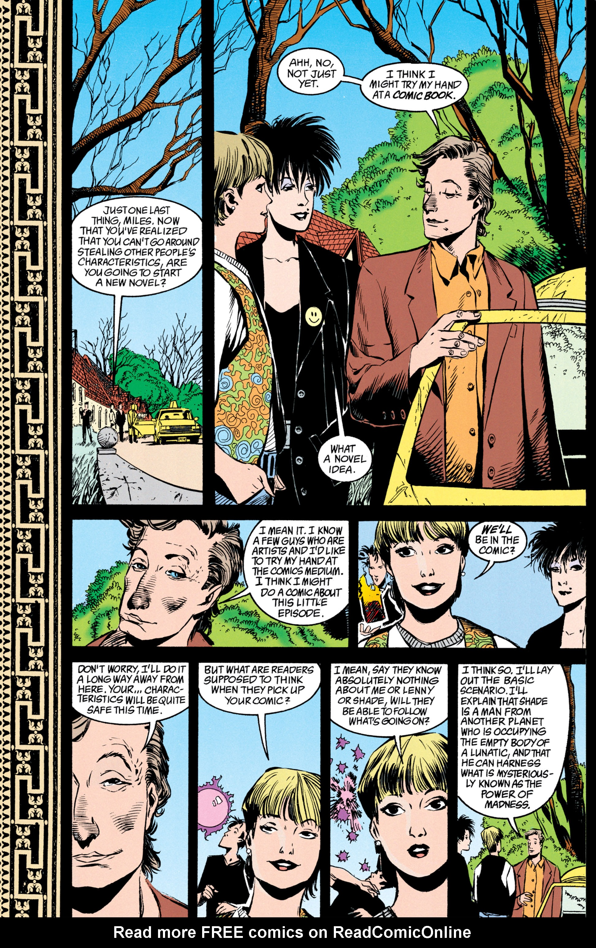 Read online Shade, the Changing Man comic -  Issue #39 - 23