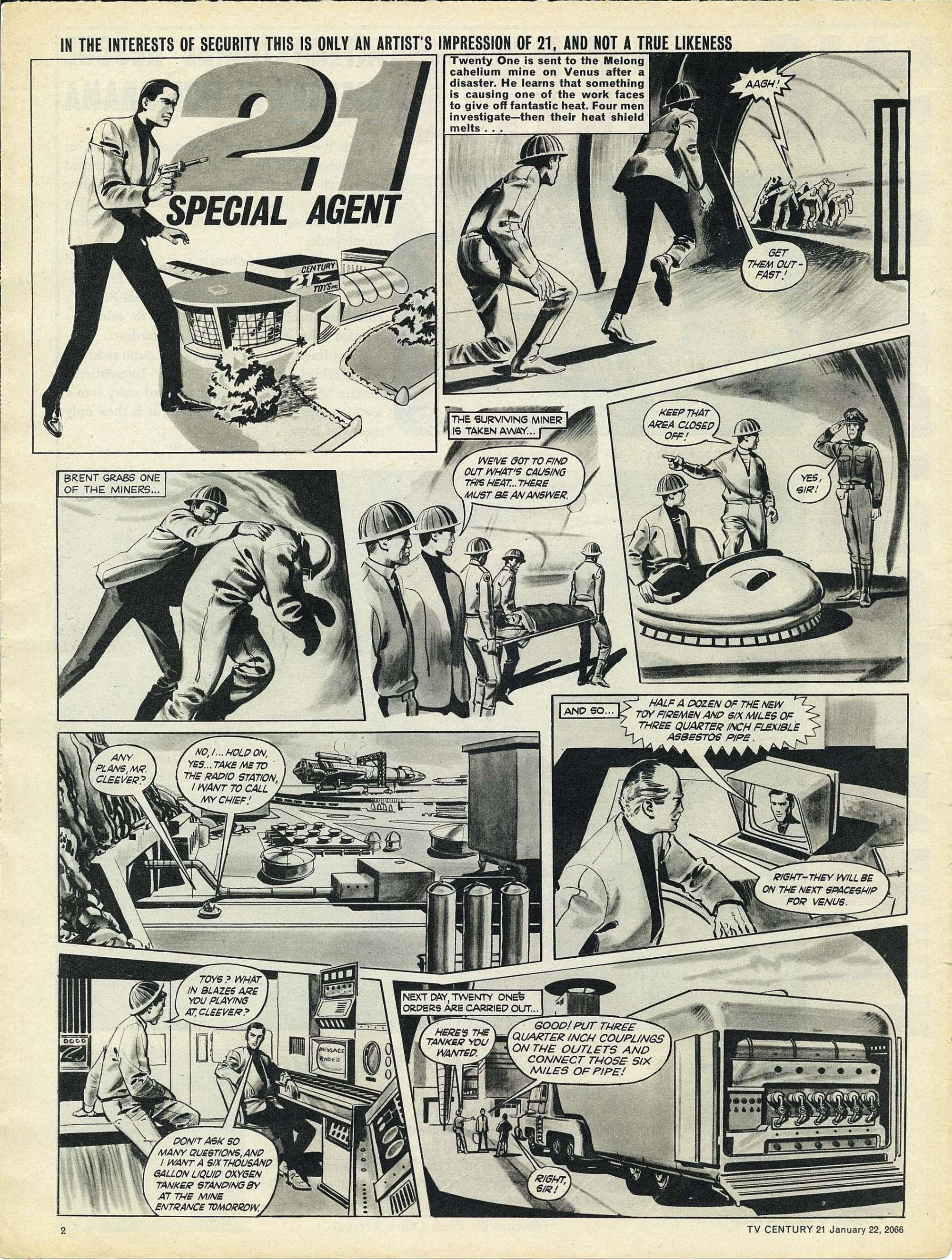 Read online TV Century 21 (TV 21) comic -  Issue #53 - 2