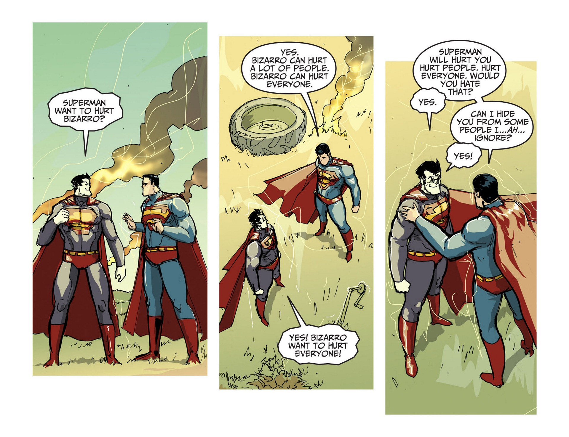 Read online Adventures of Superman [I] comic -  Issue #3 - 19