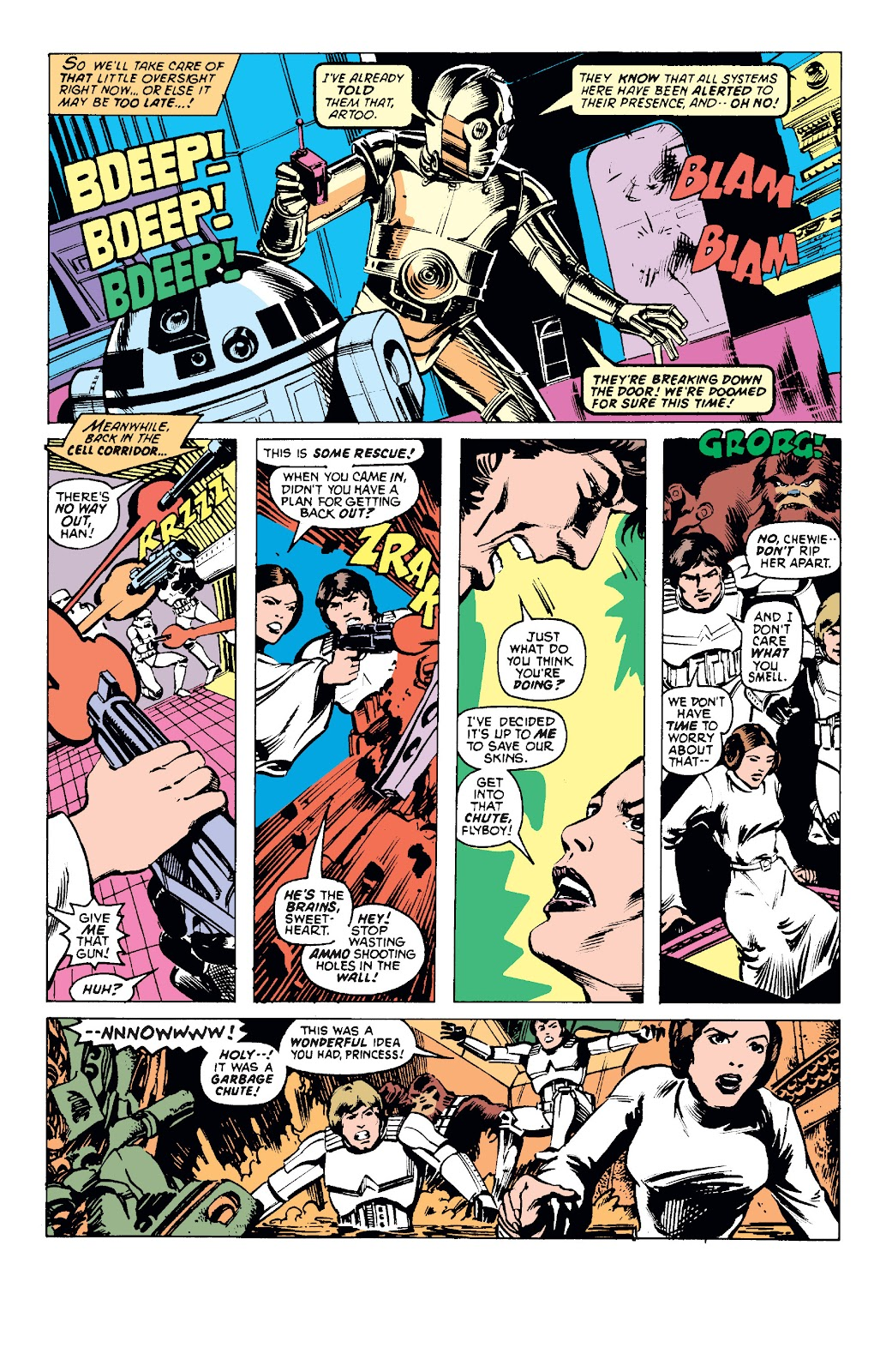 Star Wars (1977) Issue #4 #7 - English 3
