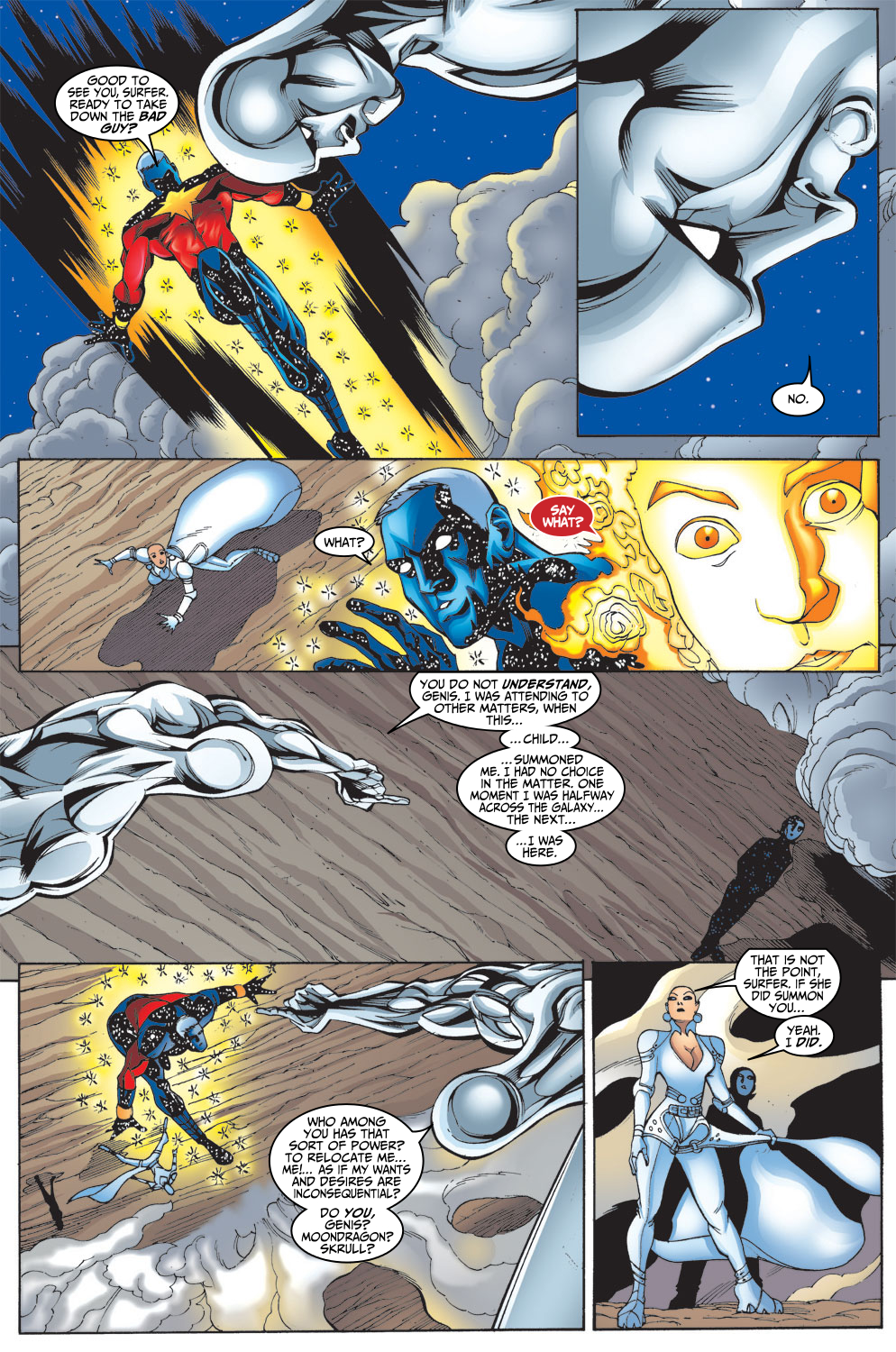 Captain Marvel (1999) Issue #9 #10 - English 6