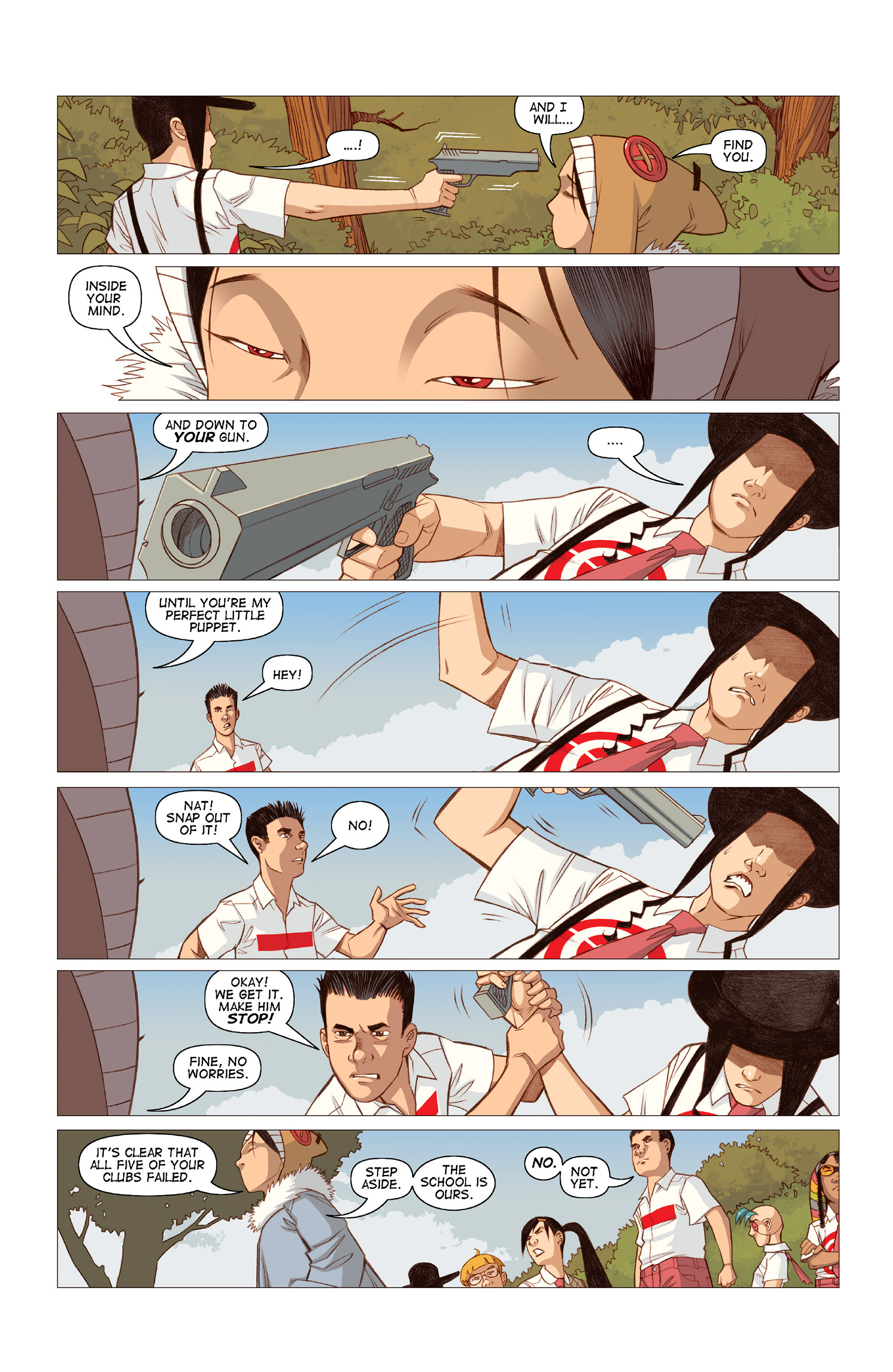Read online Five Weapons comic -  Issue #10 - 23