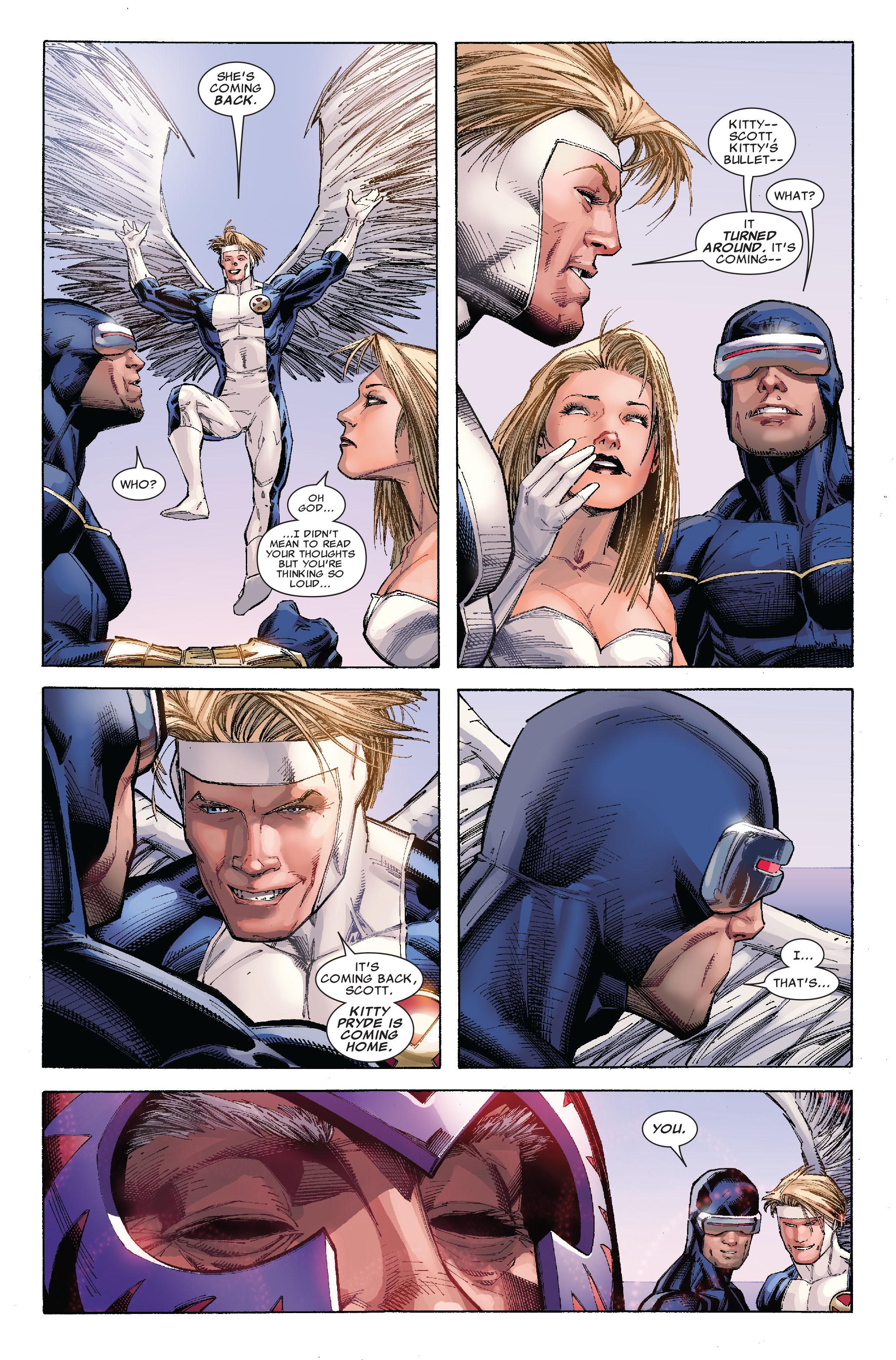 Read online Uncanny X-Men (1963) comic -  Issue #522 - 6