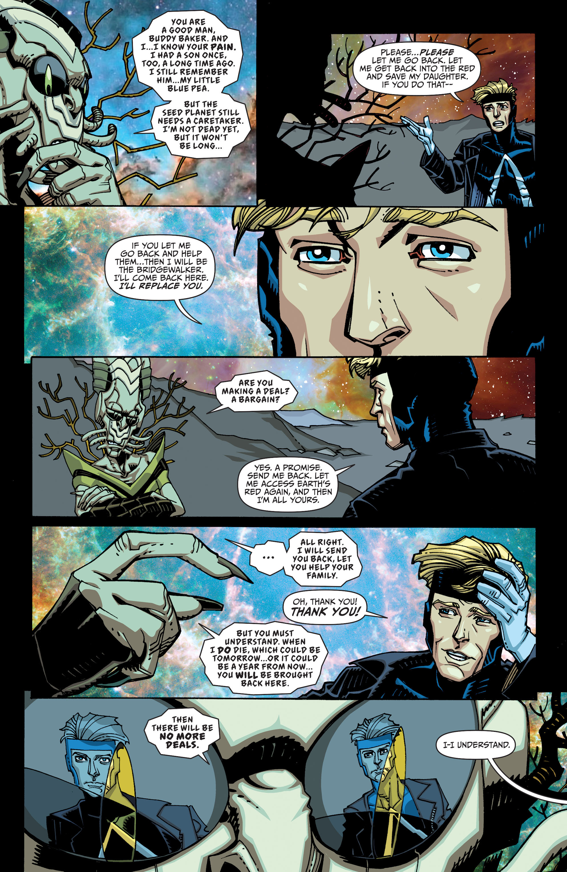 Read online Animal Man (2011) comic -  Issue #26 - 15