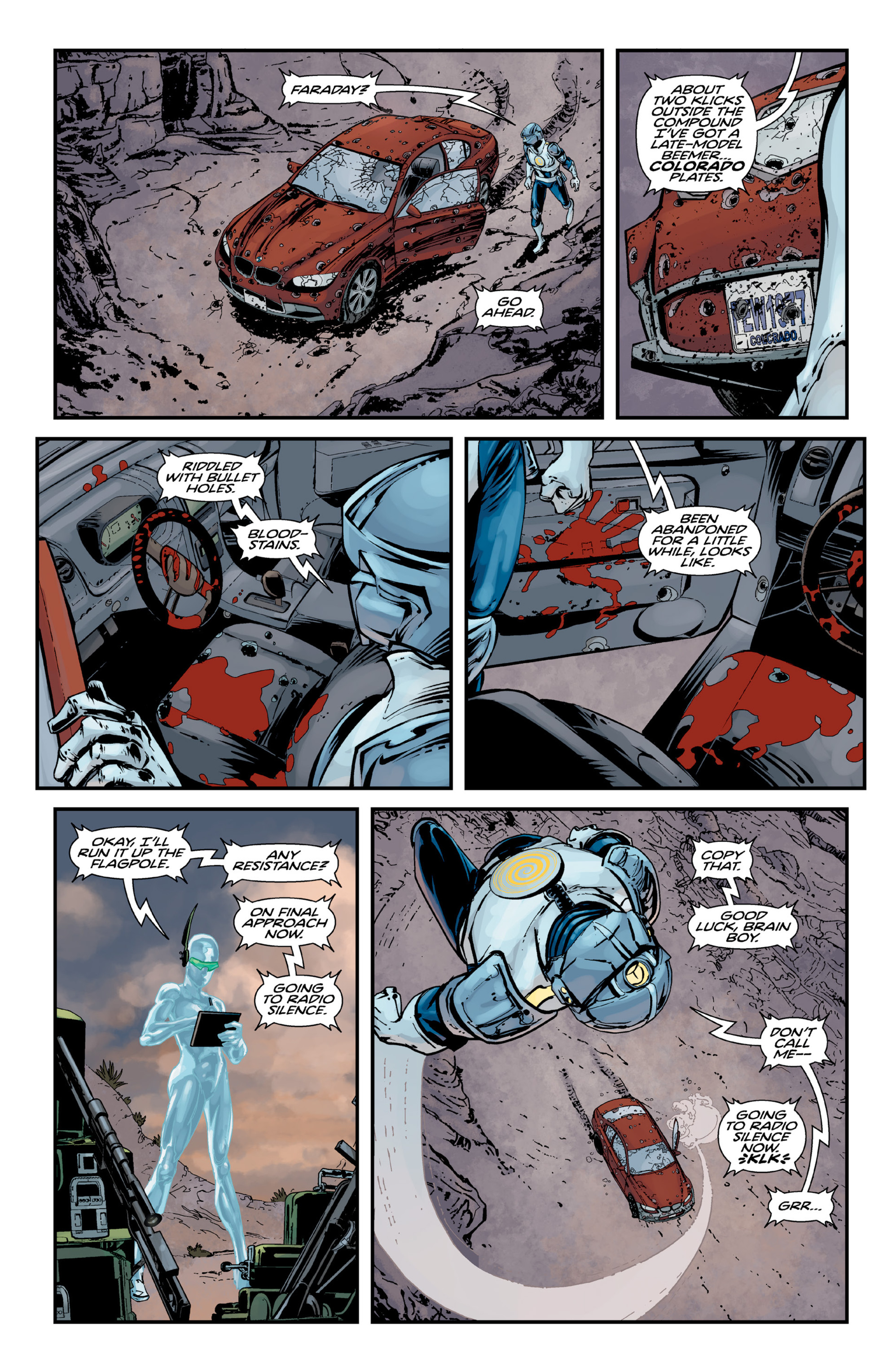 Read online Brain Boy:  The Men from G.E.S.T.A.L.T. comic -  Issue # TPB - 50