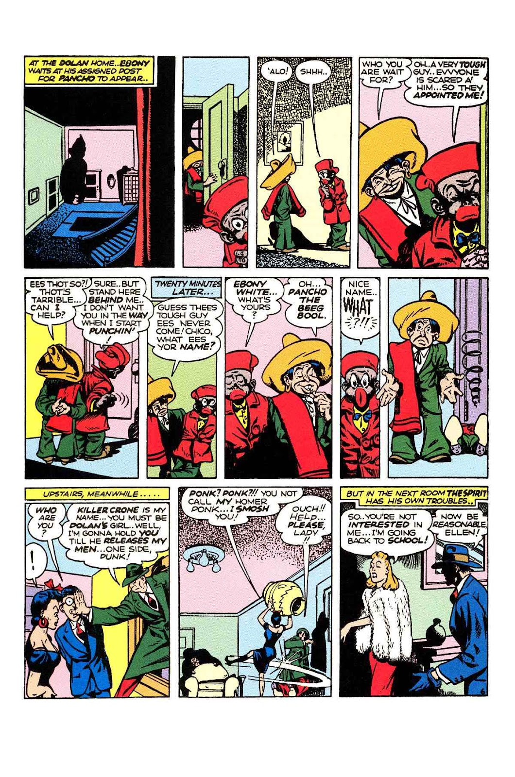 Read online Will Eisner's The Spirit Archives comic -  Issue # TPB 2 (Part 1) - 22