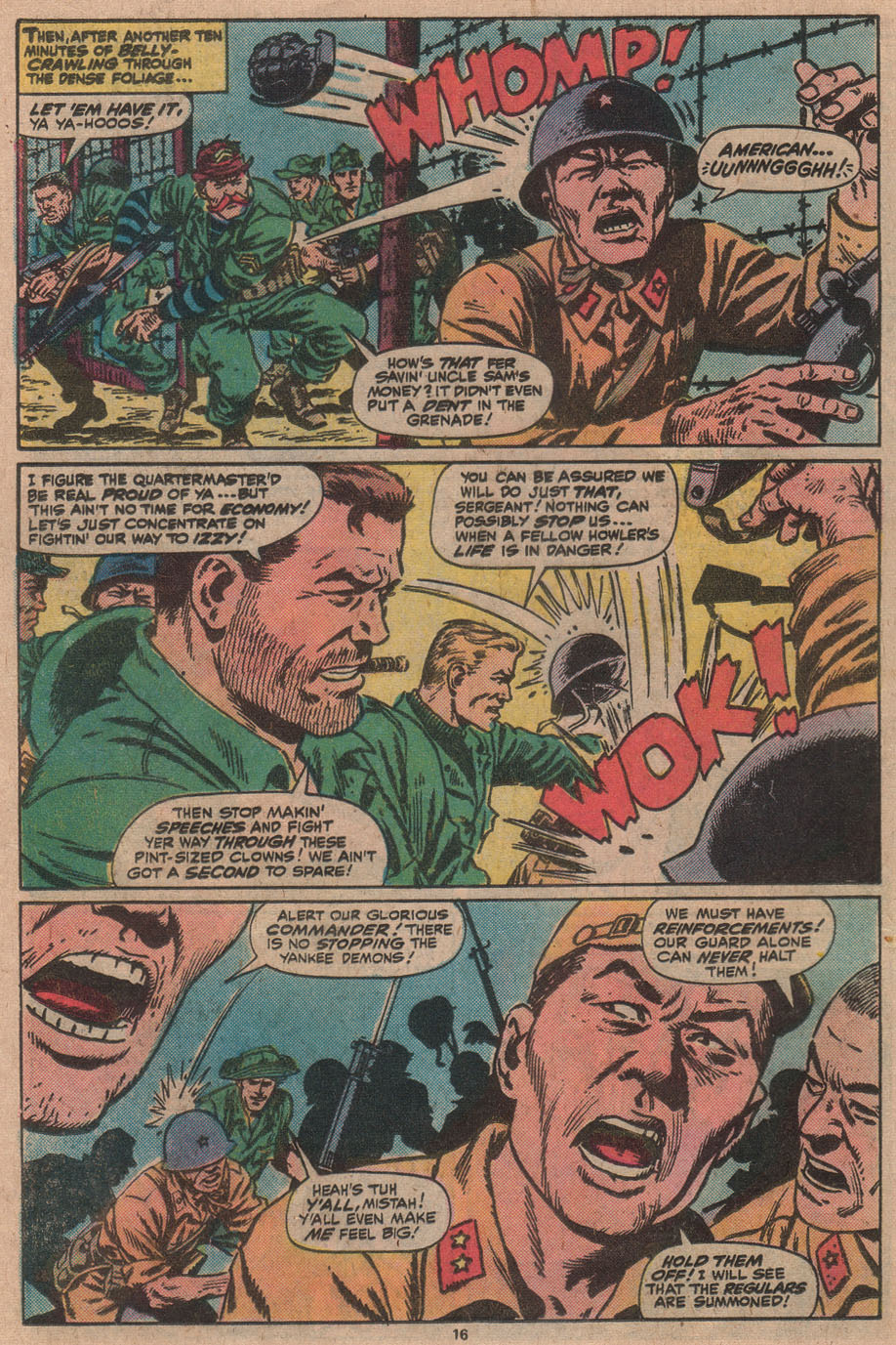 Read online Sgt. Fury comic -  Issue #145 - 18