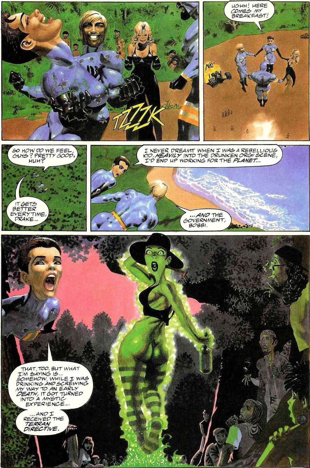 Read online Terrarists comic -  Issue #1 - 18