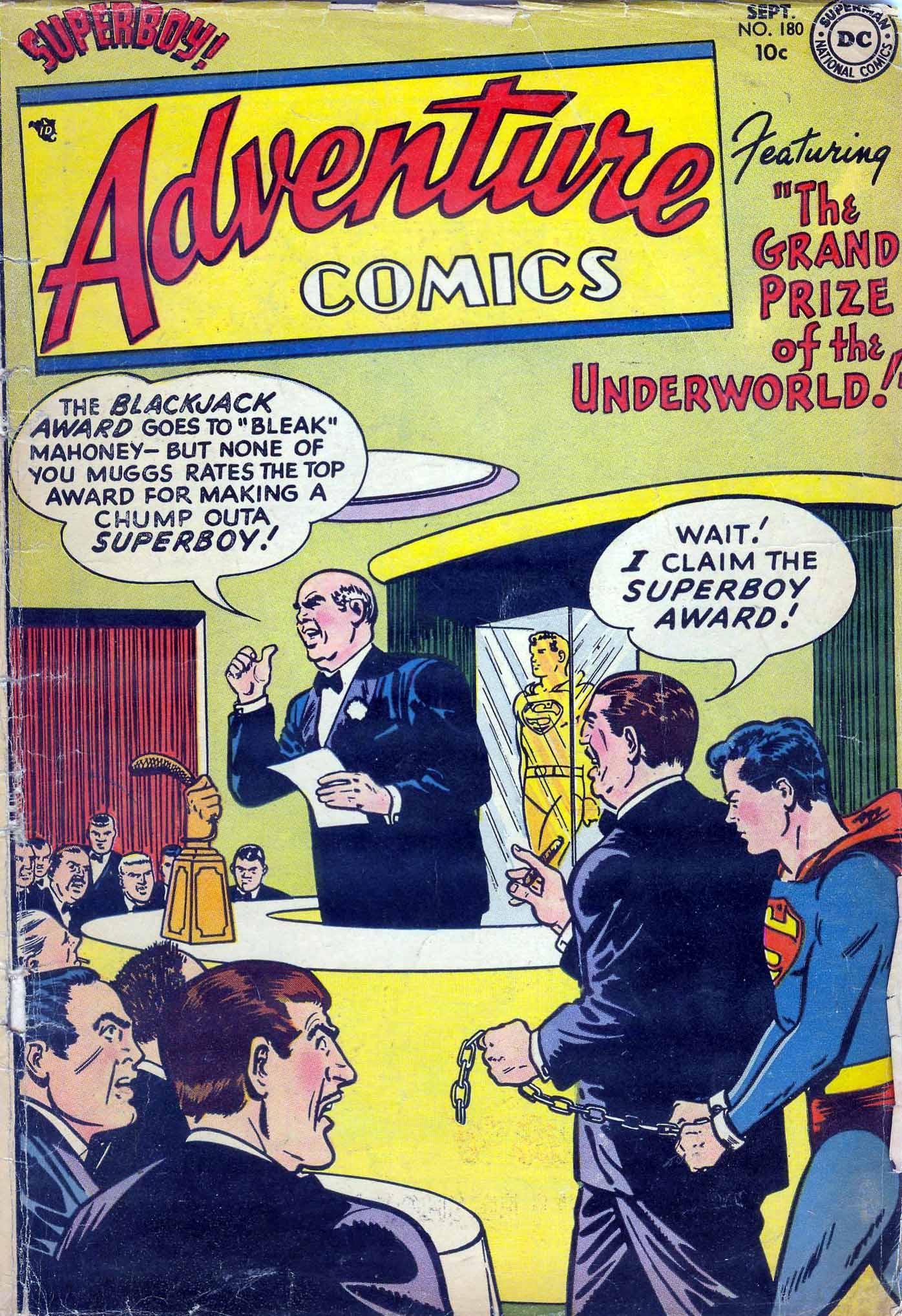 Read online Adventure Comics (1938) comic -  Issue #180 - 1