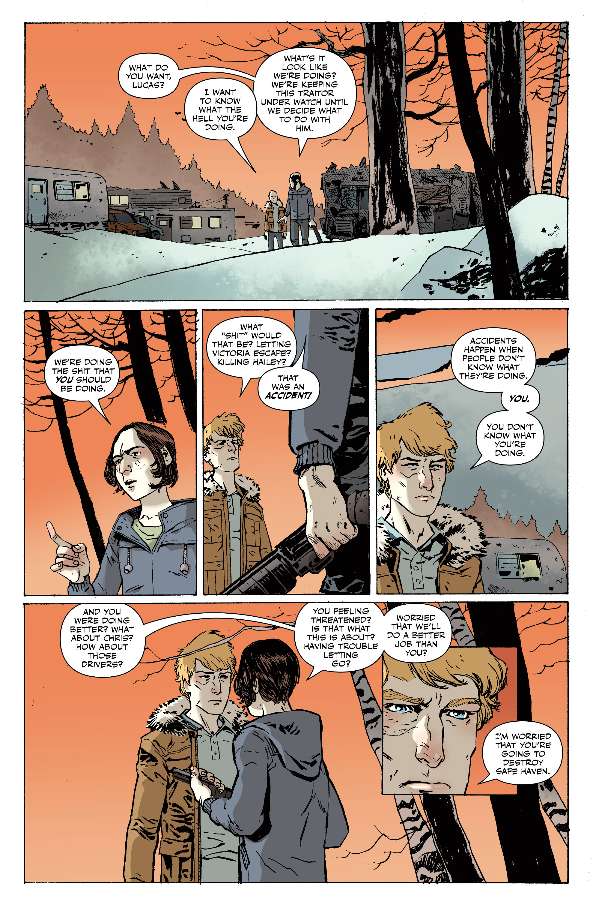 Read online Sheltered comic -  Issue #11 - 12