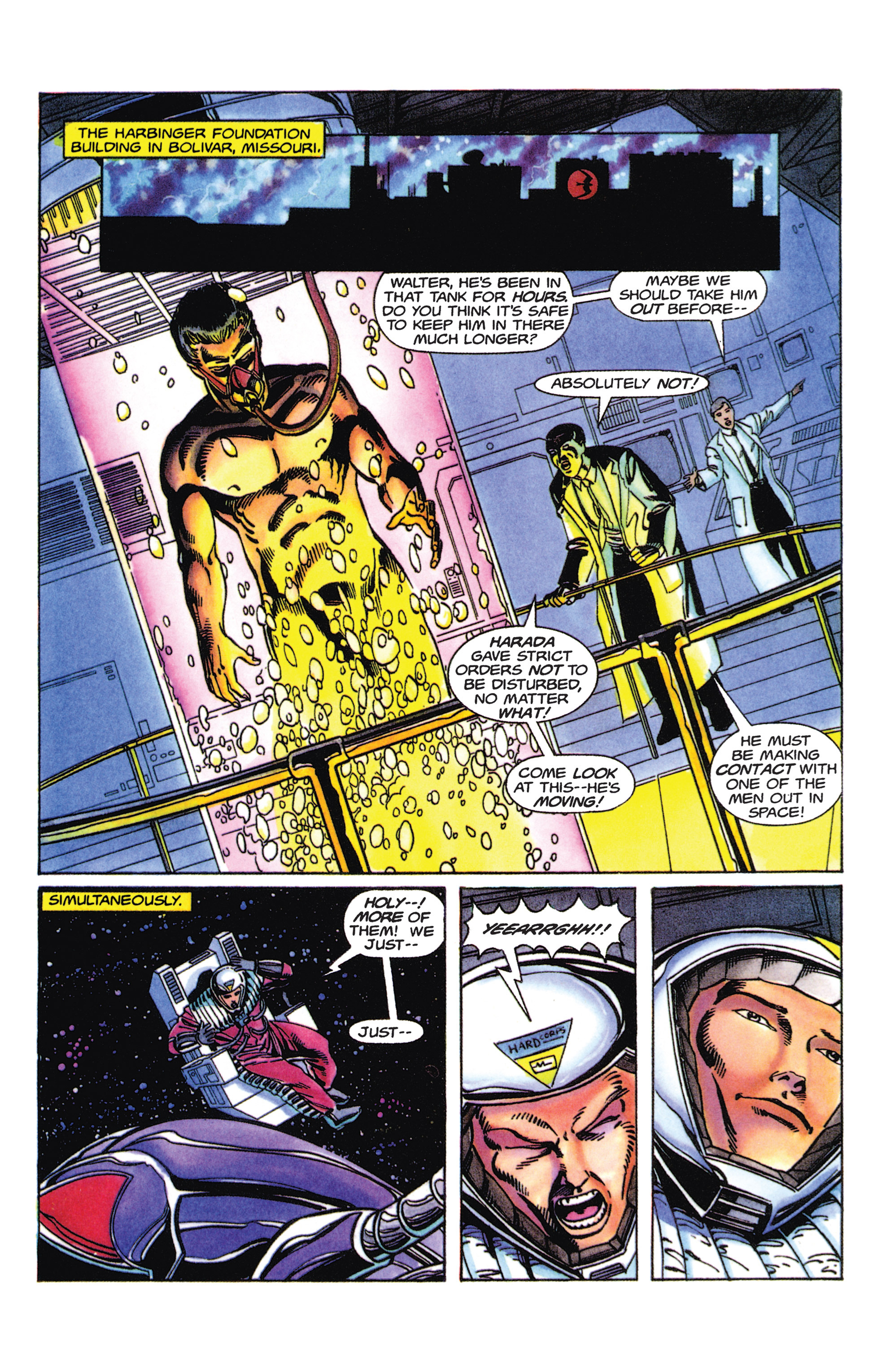 Read online Armorines comic -  Issue #5 - 14