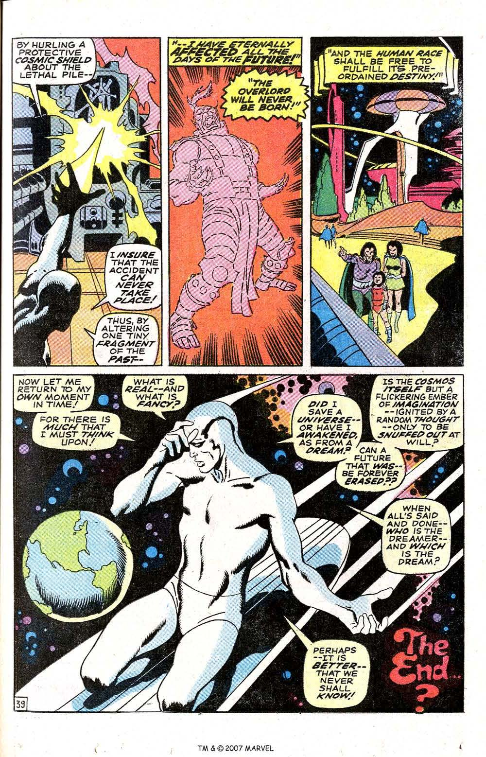 Read online Silver Surfer (1968) comic -  Issue #6 - 47