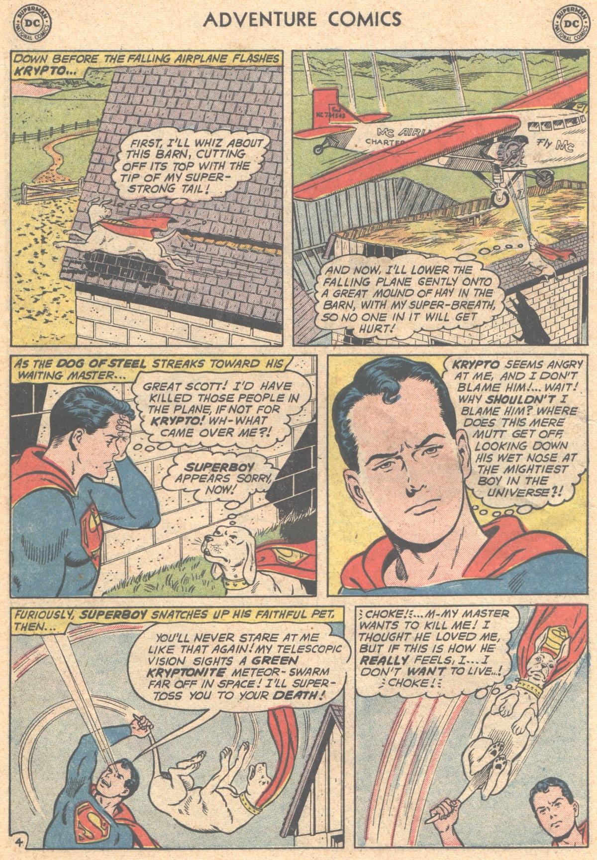 Read online Adventure Comics (1938) comic -  Issue #293 - 6
