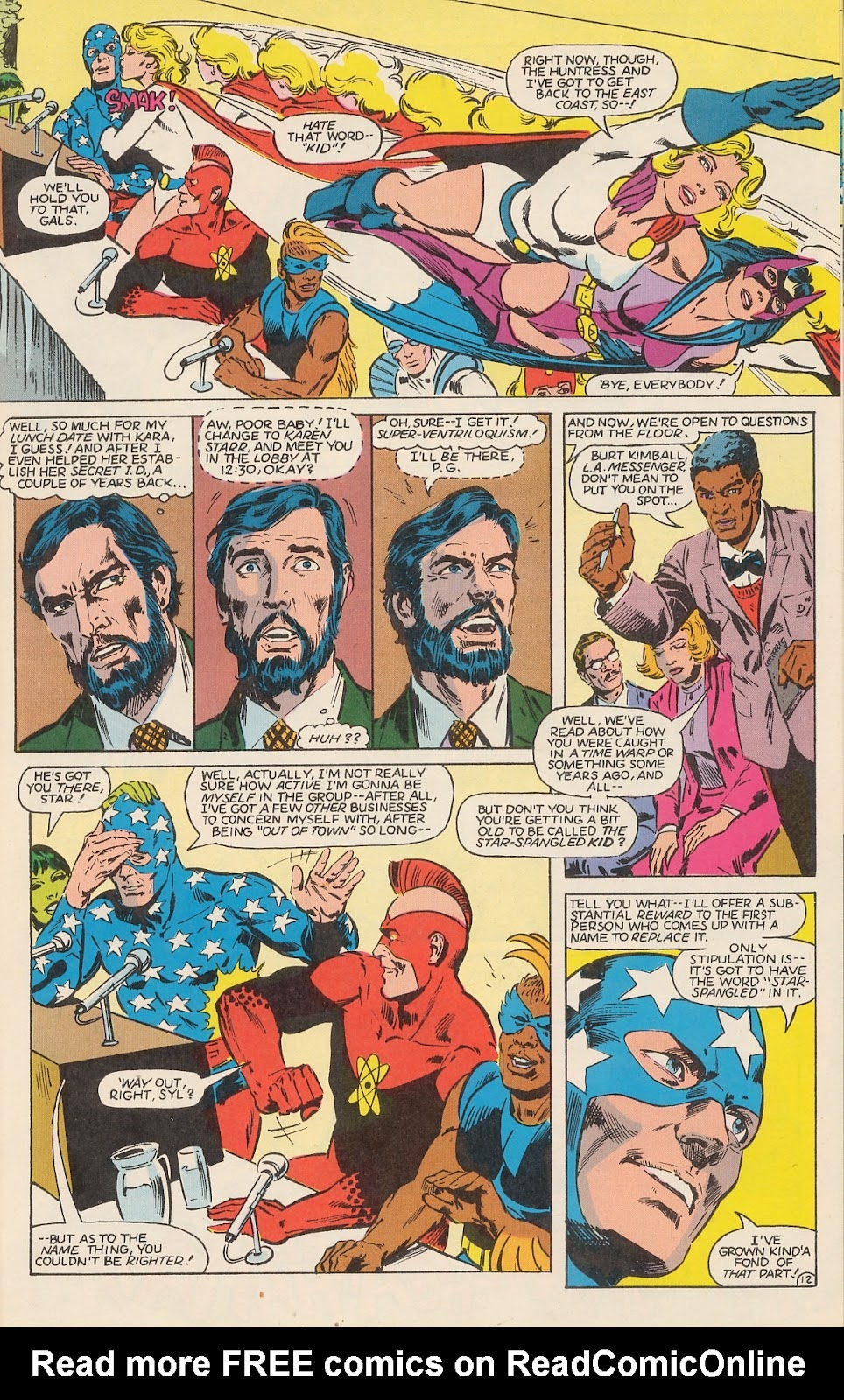 Infinity Inc. (1984) issue 12 - Page 16