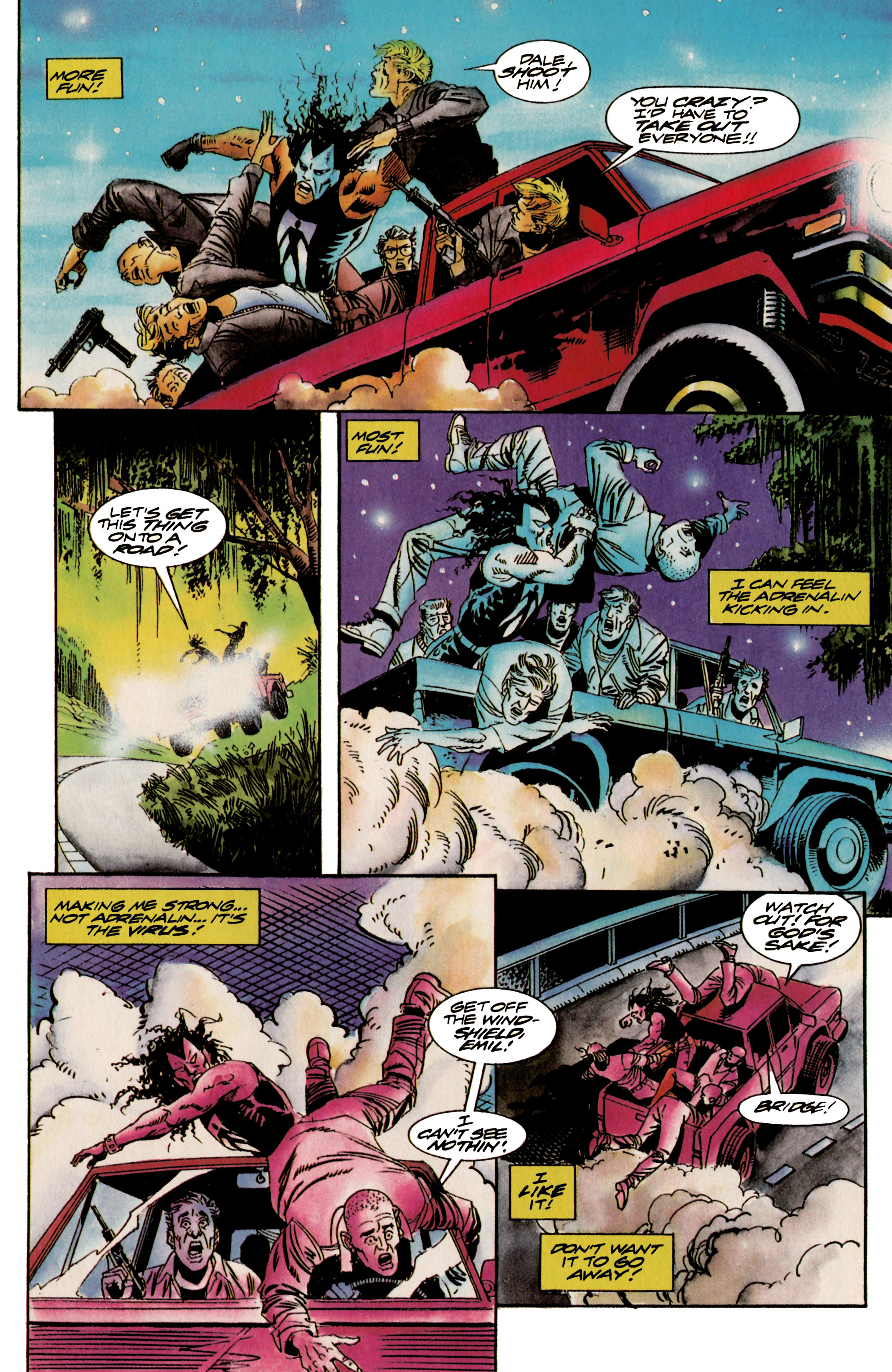 Read online Shadowman (1992) comic -  Issue #18 - 13