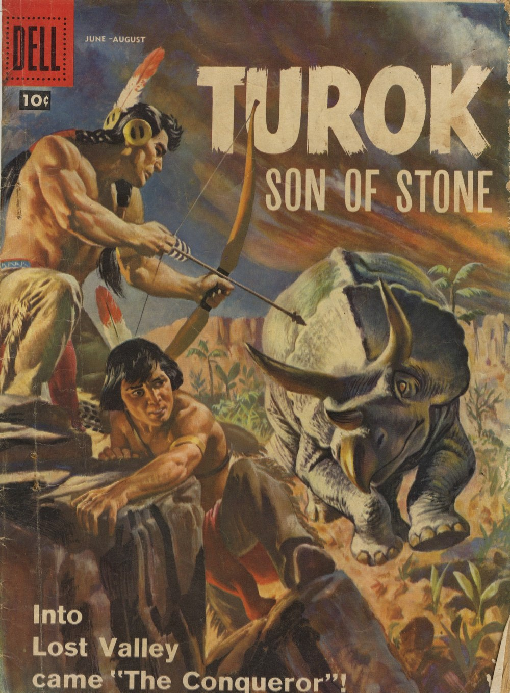 Read online Turok, Son of Stone comic -  Issue #12 - 1