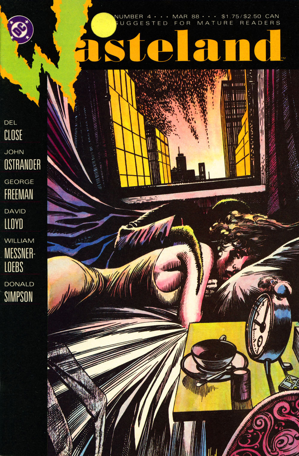 Wasteland (1987) 4 Page 1