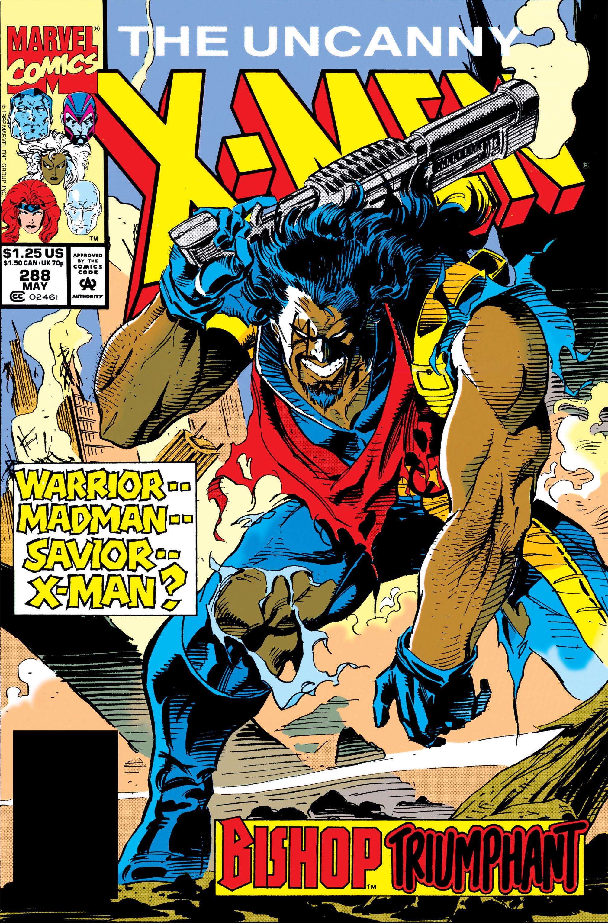 Uncanny X-Men (1963) 288 Page 1