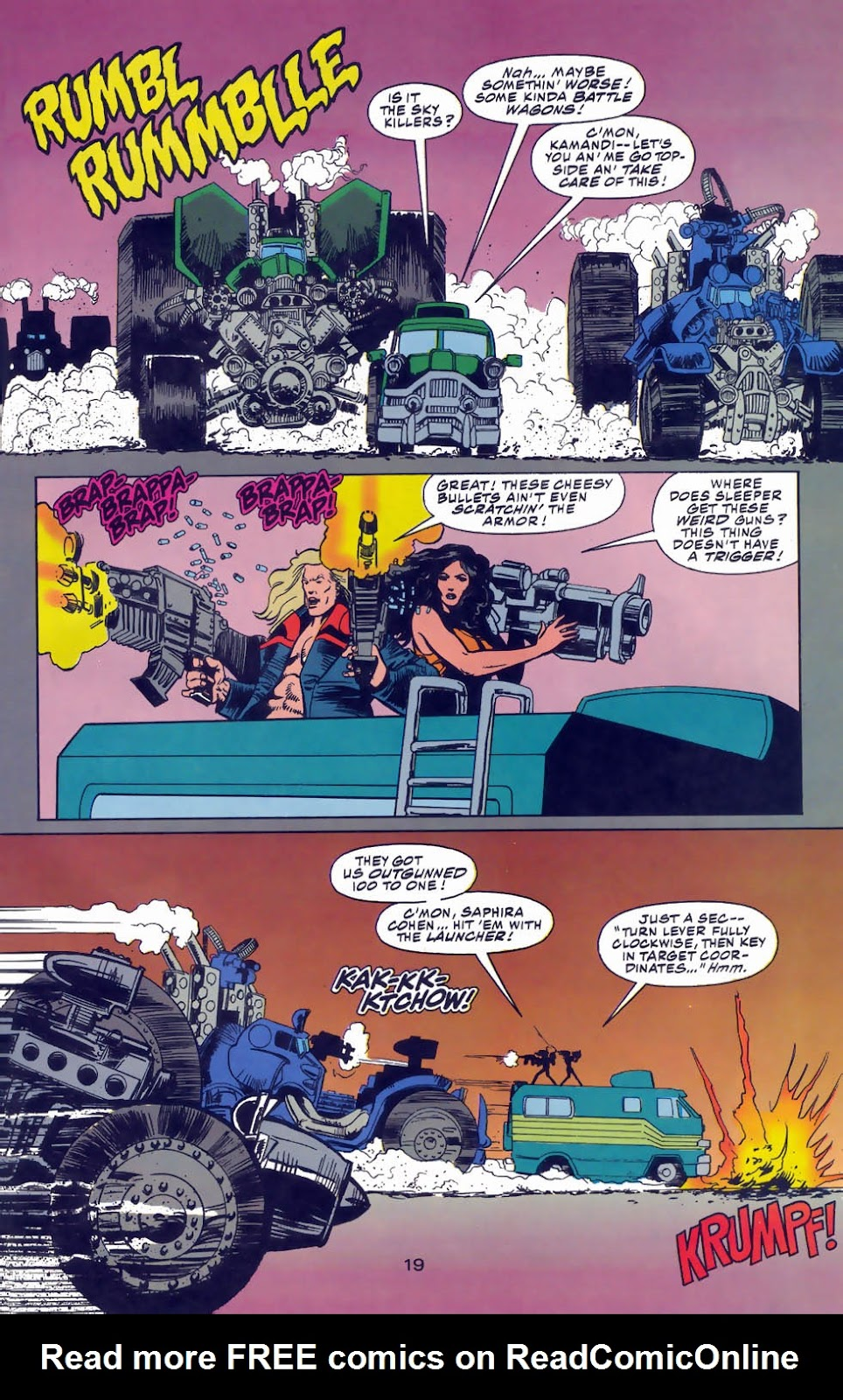 Read online Kamandi: At Earth's End comic -  Issue #3 - 21