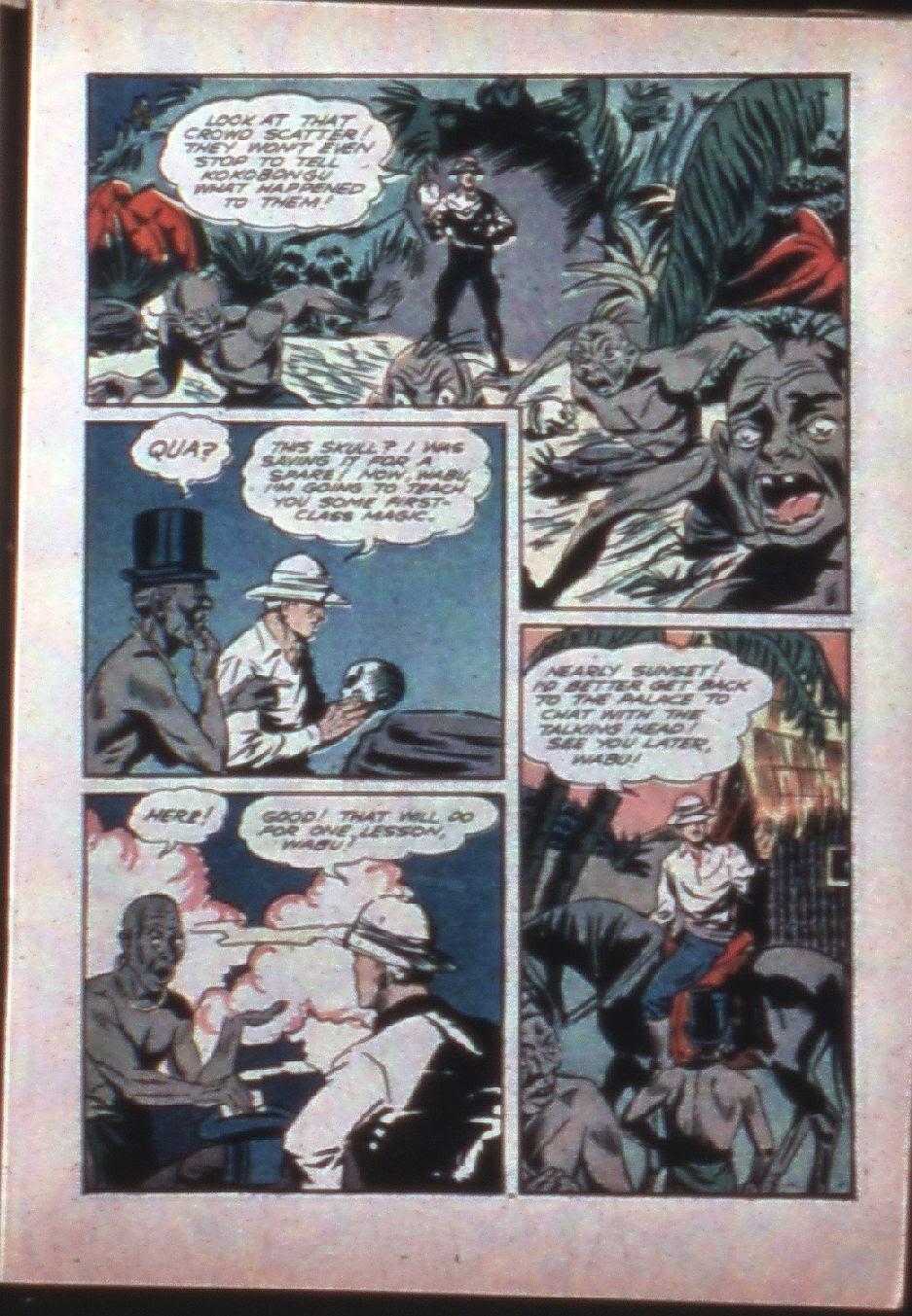 Read online Super-Magician Comics comic -  Issue #7 - 21