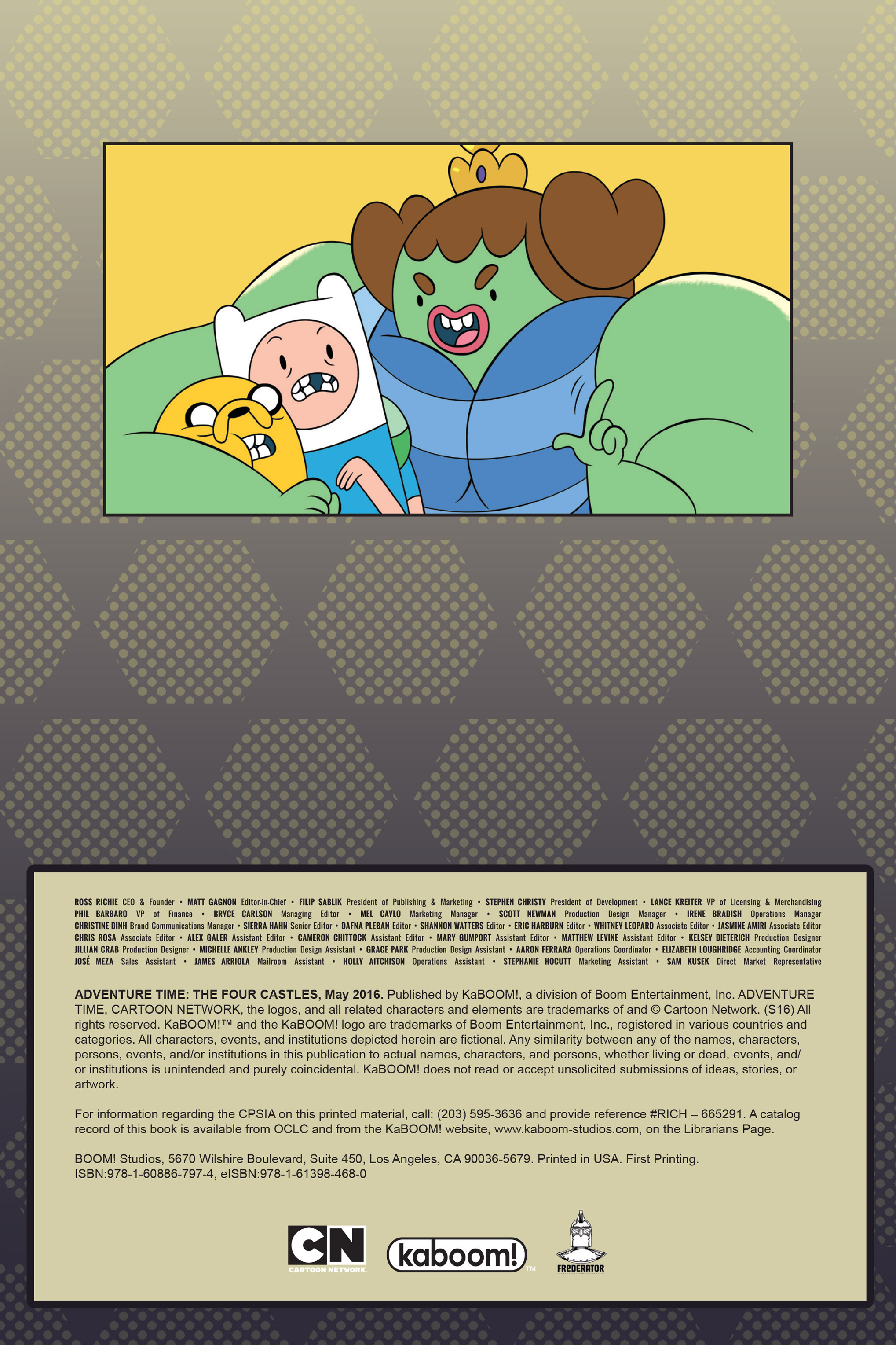 Read online Adventure Time comic -  Issue #Adventure Time _TPB 7 - 3