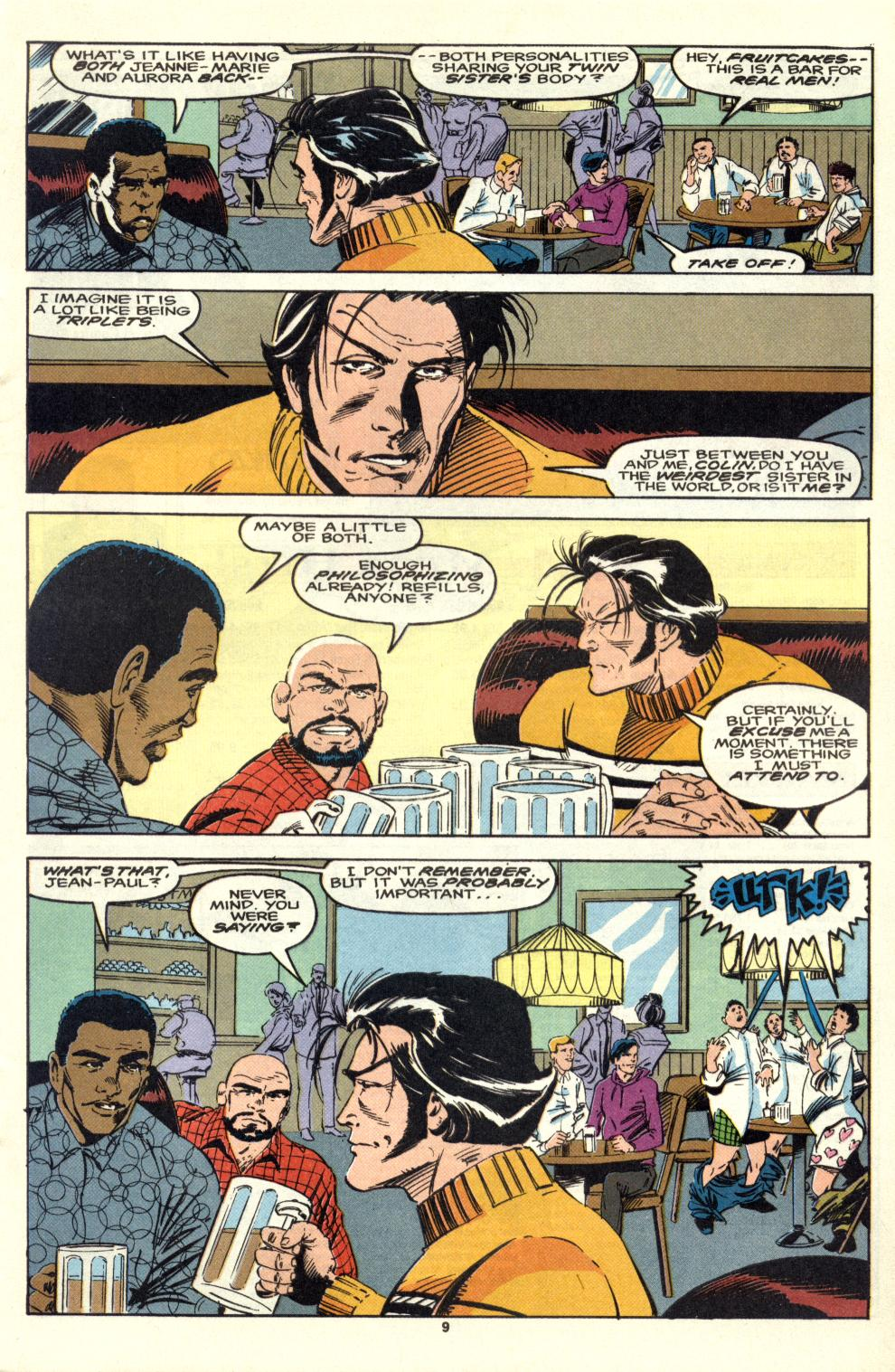 Read online Alpha Flight (1983) comic -  Issue #105 - 8
