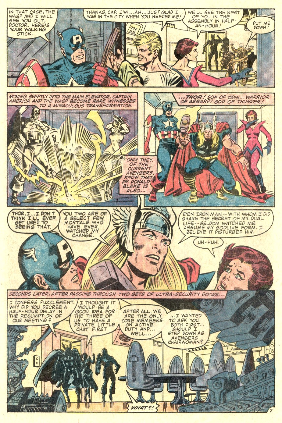 The Avengers (1963) 232 Page 2