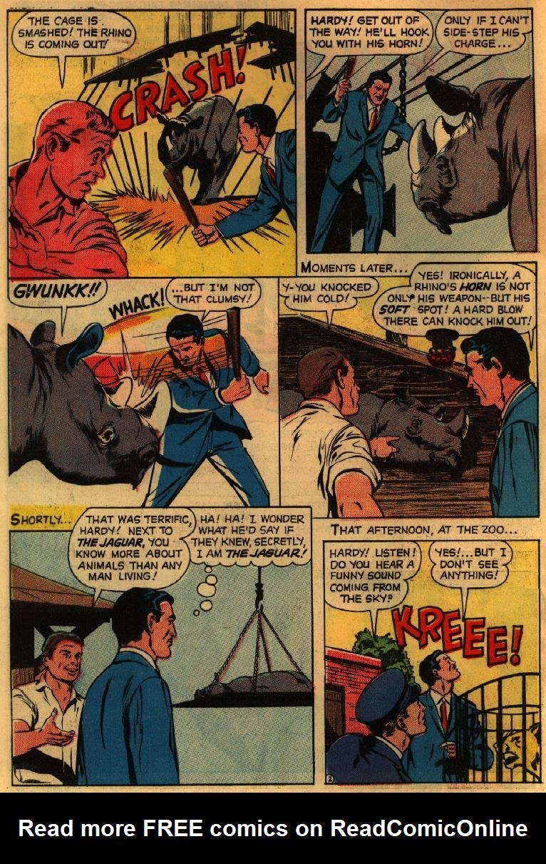 Adventures of the Jaguar issue 3 - Page 4