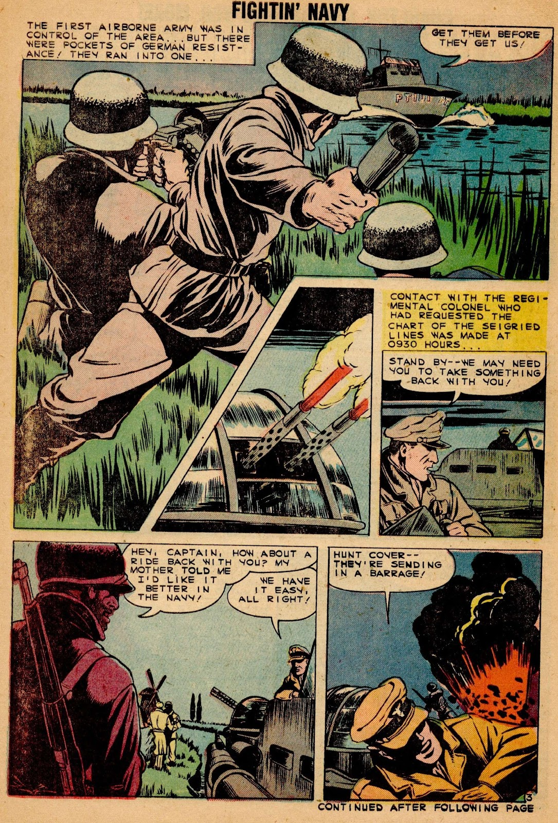 Read online Fightin' Navy comic -  Issue #90 - 30