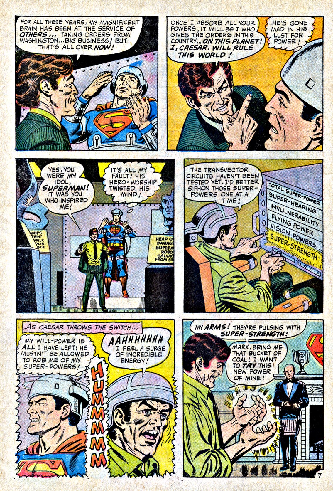 Read online Action Comics (1938) comic -  Issue #404 - 9