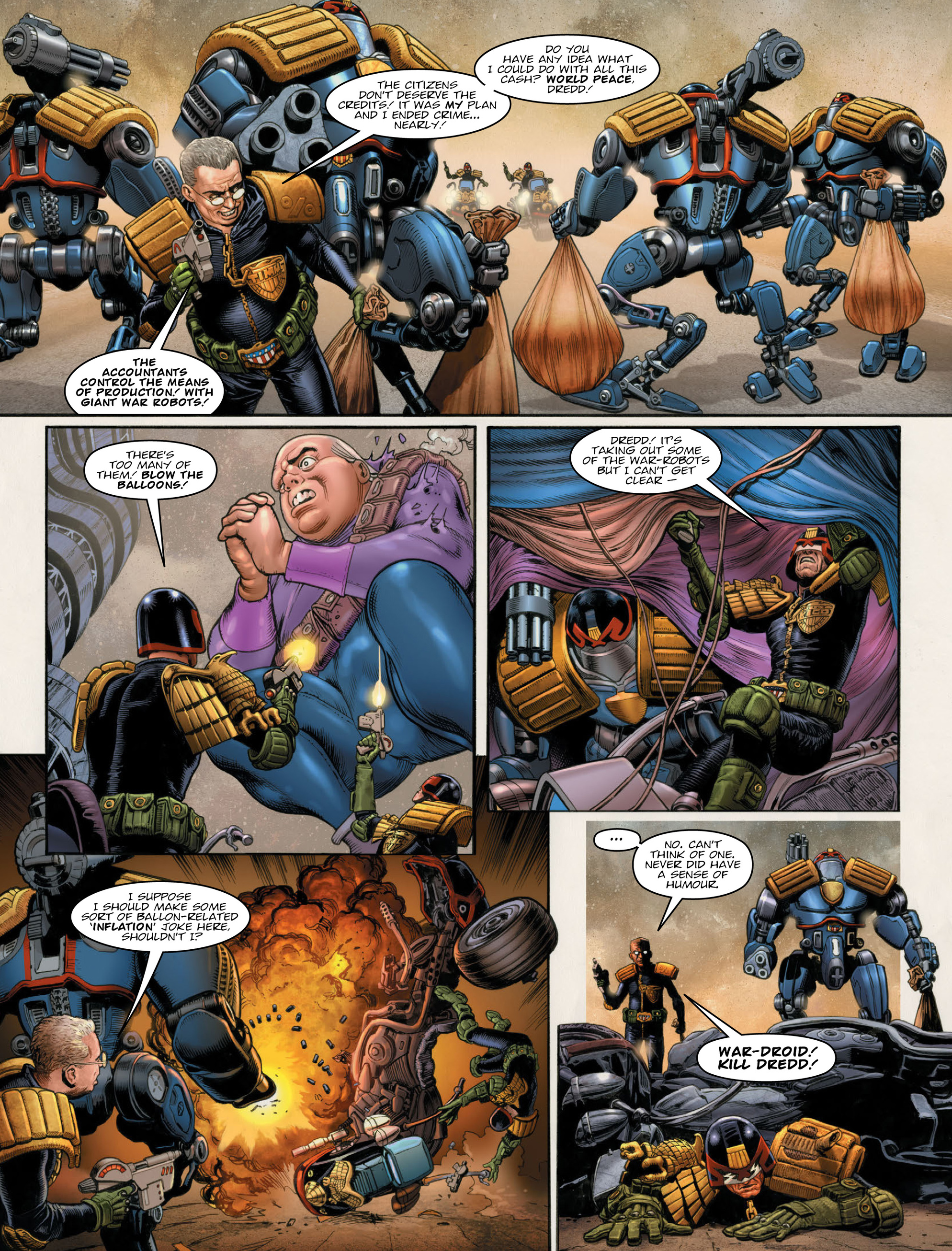 Read online 2000 AD comic -  Issue #2011 - 14