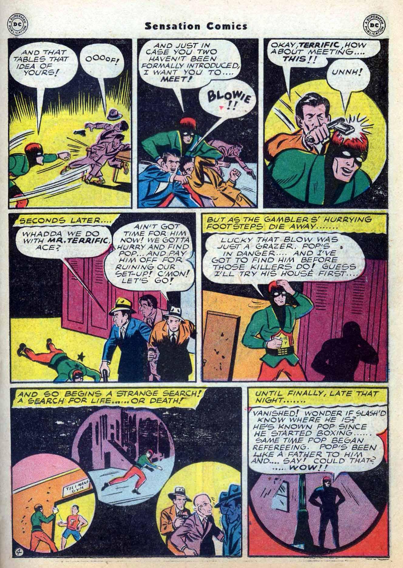 Read online Sensation (Mystery) Comics comic -  Issue #59 - 35