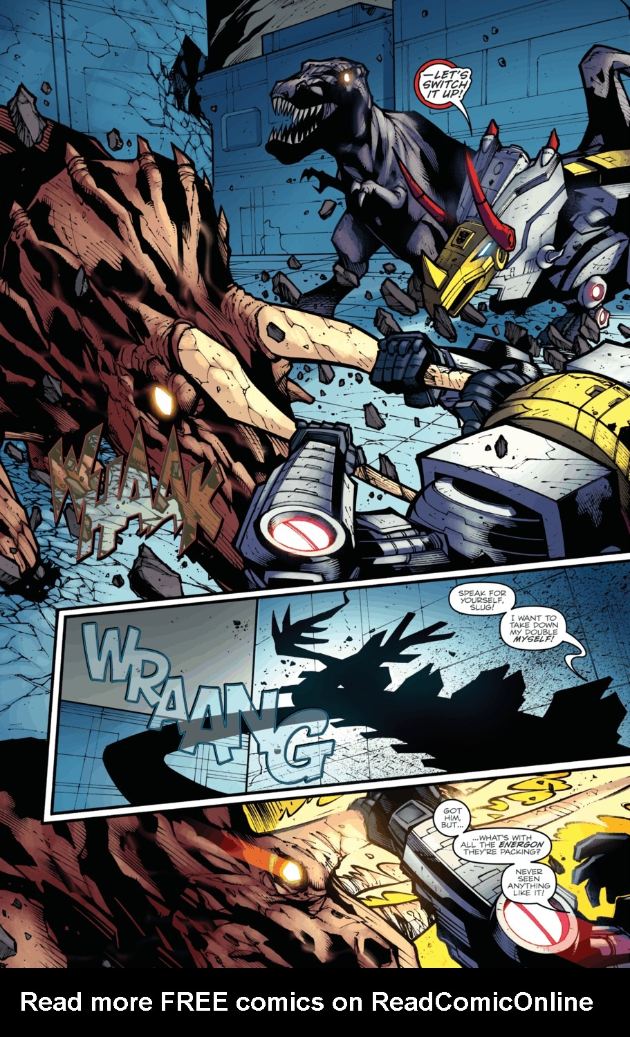 Read online Transformers Prime: Beast Hunters comic -  Issue #4 - 19