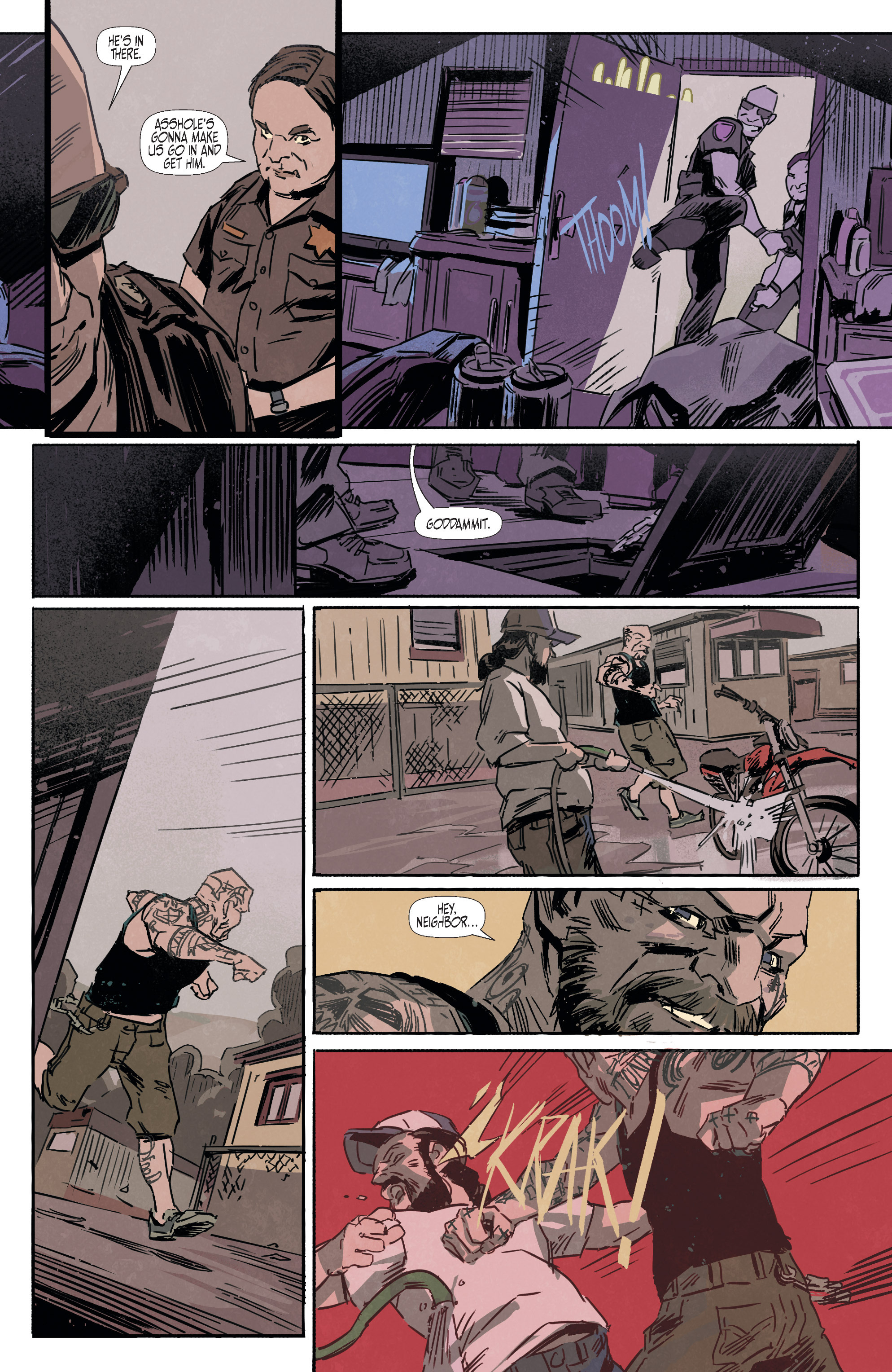 Read online Sons of the Devil comic -  Issue #12 - 18
