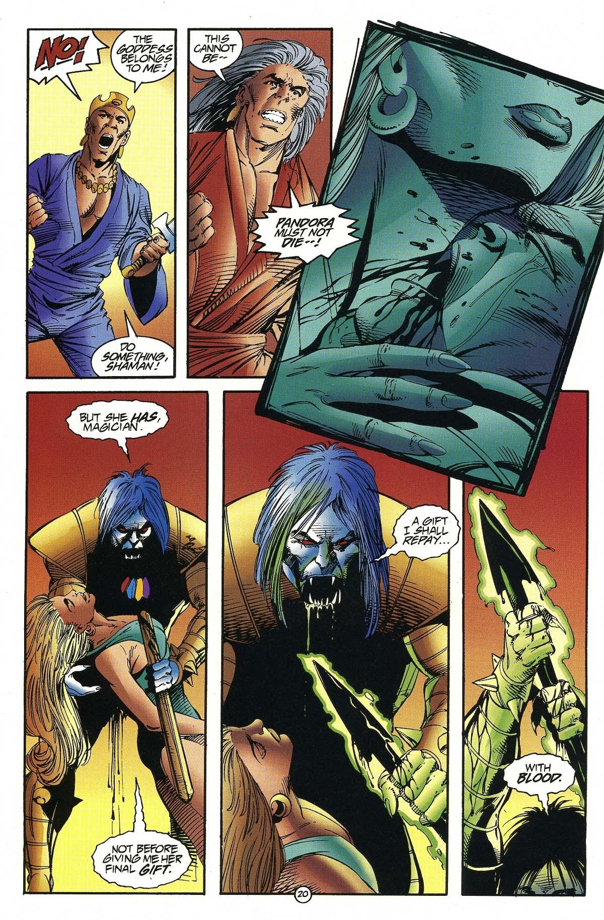Read online Rune (1994) comic -  Issue #7 - 22