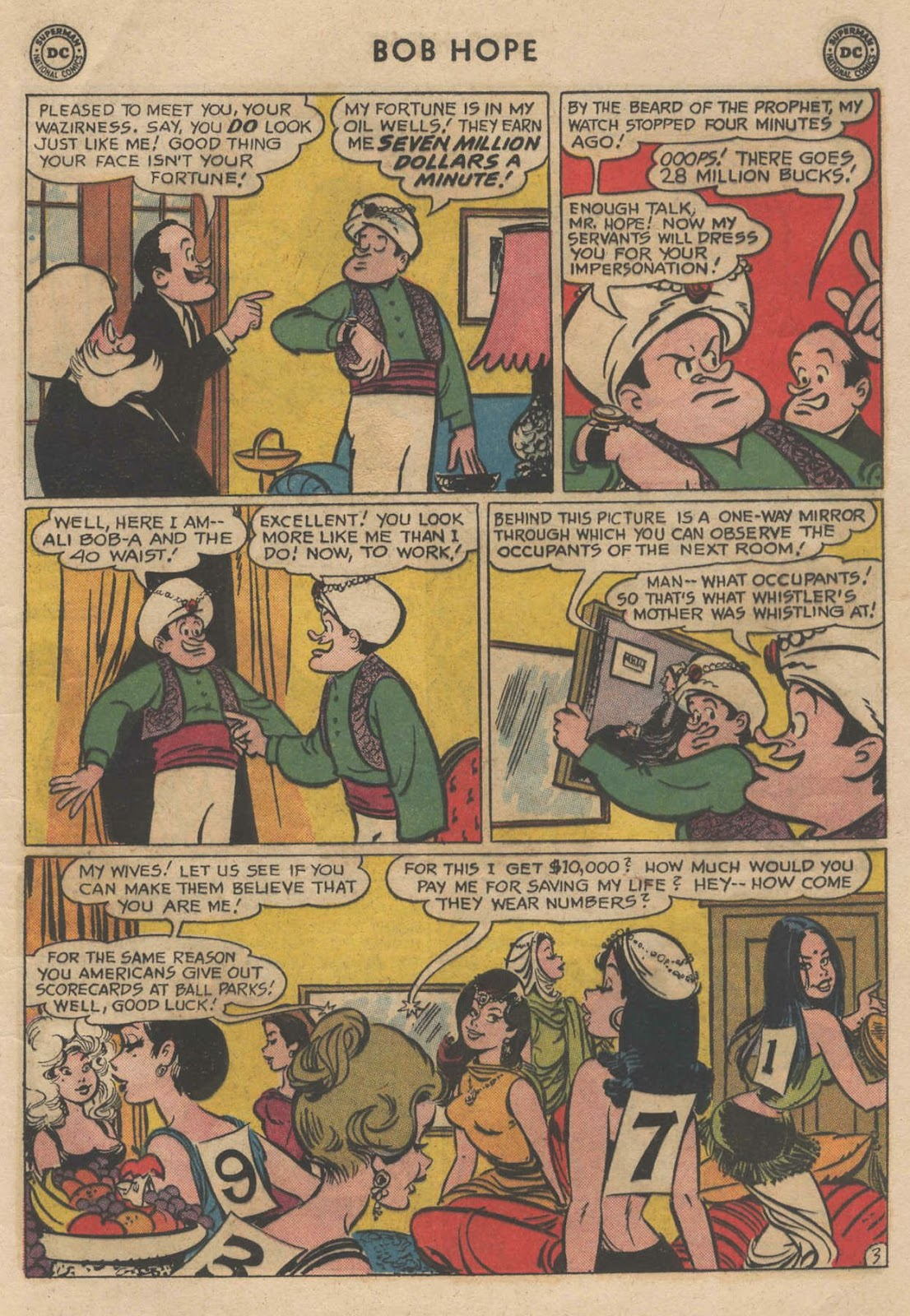 The Adventures of Bob Hope issue 90 - Page 5