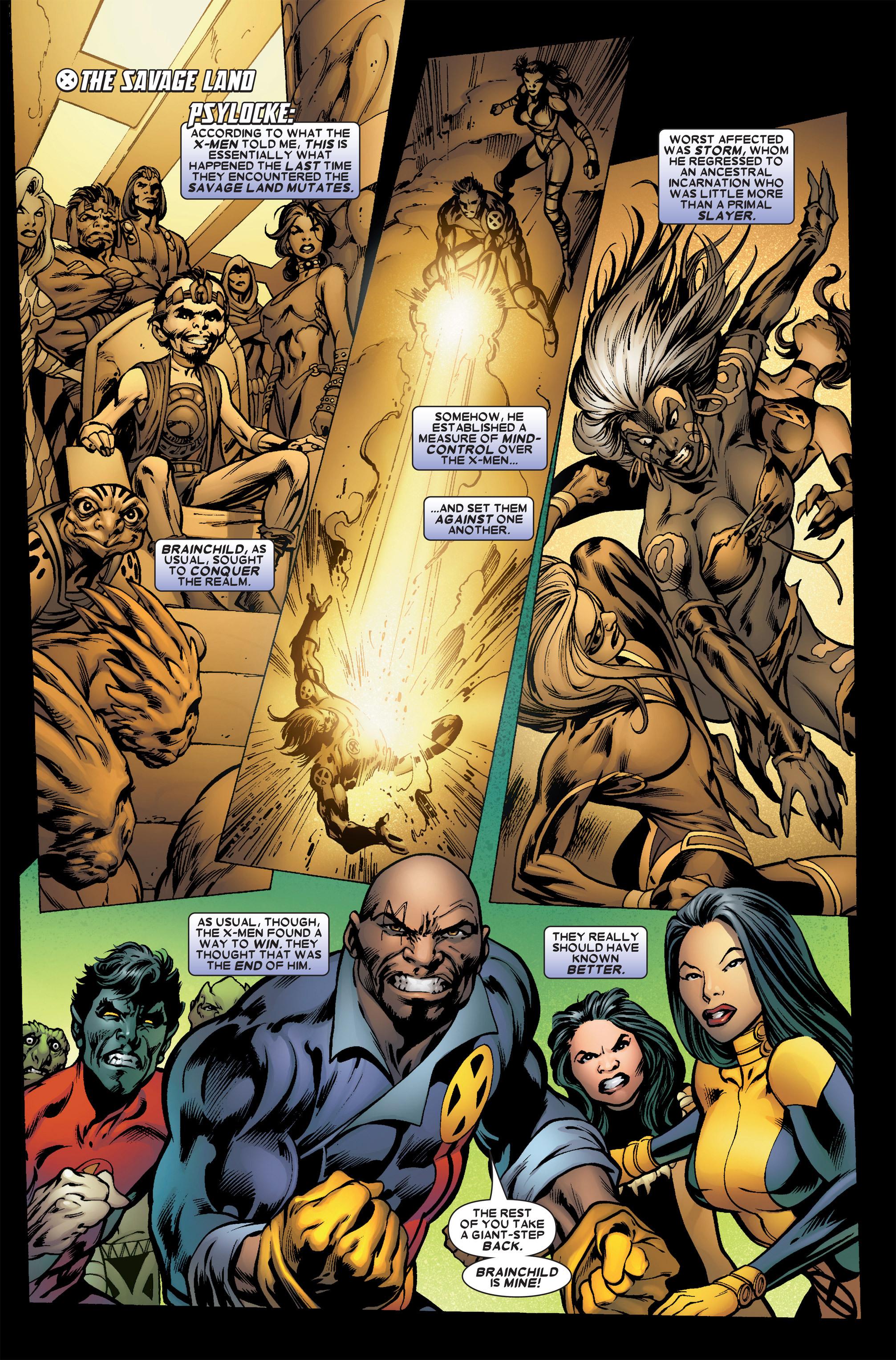 Read online Uncanny X-Men (1963) comic -  Issue #458 - 2
