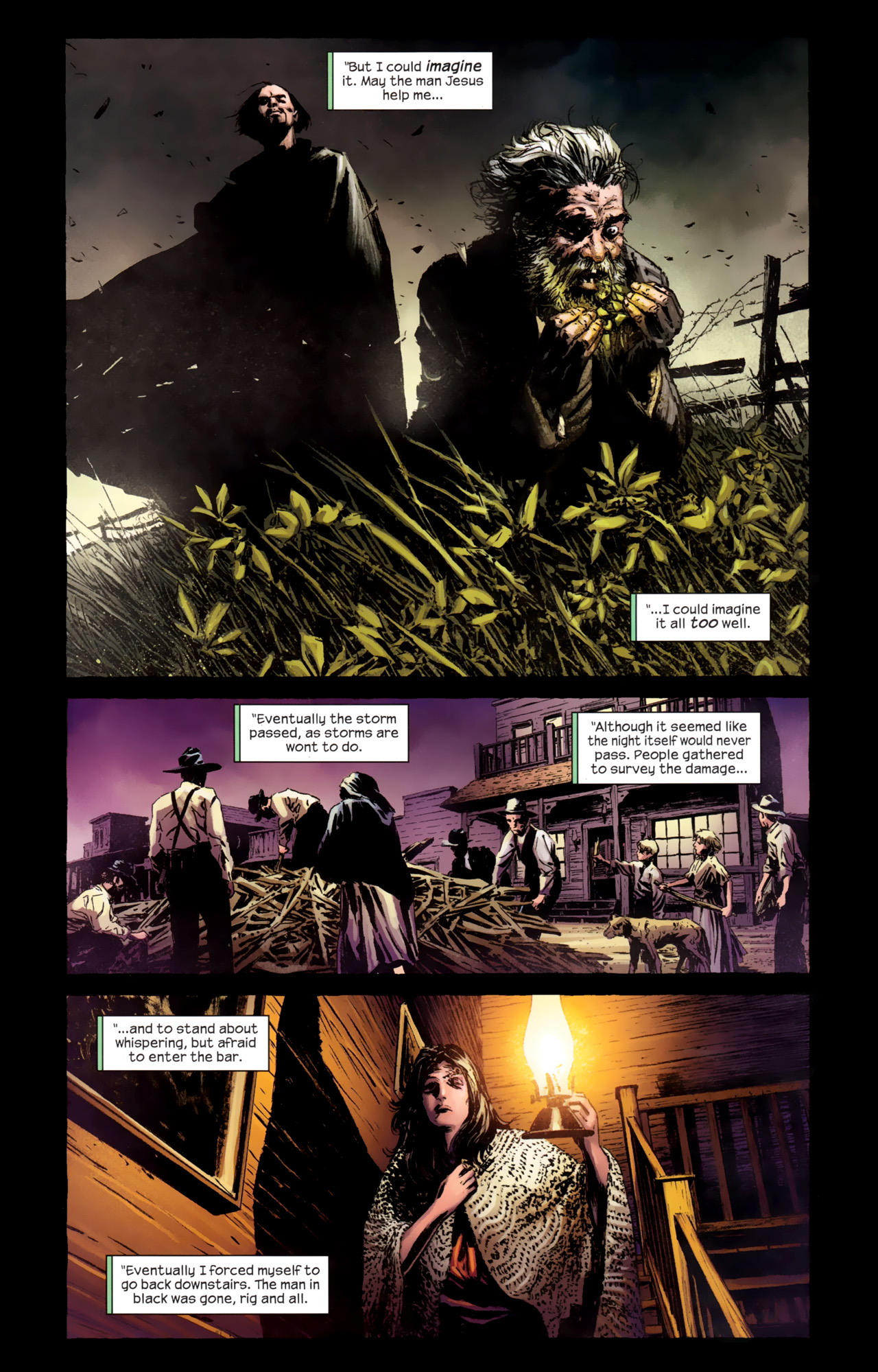 Read online Dark Tower: The Gunslinger - The Battle of Tull comic -  Issue #3 - 7