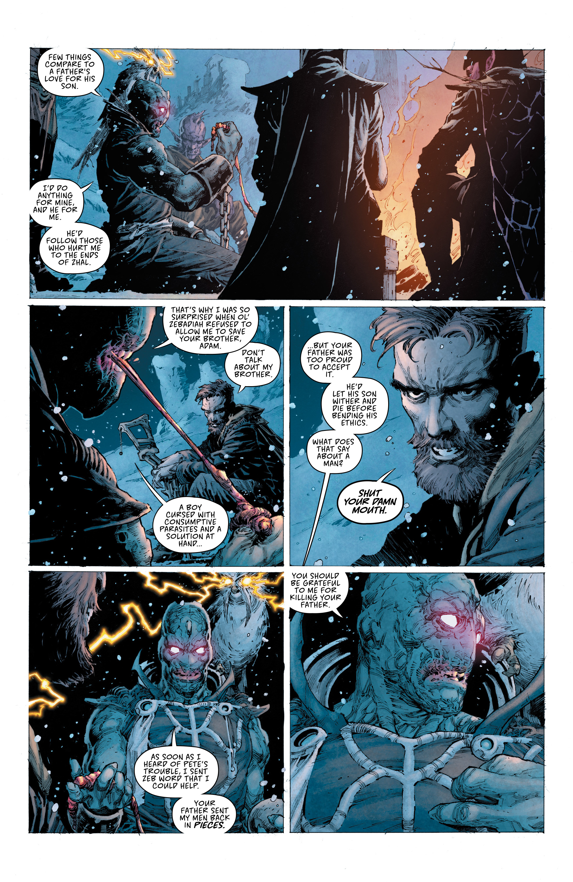 Read online Seven To Eternity comic -  Issue #4 - 12