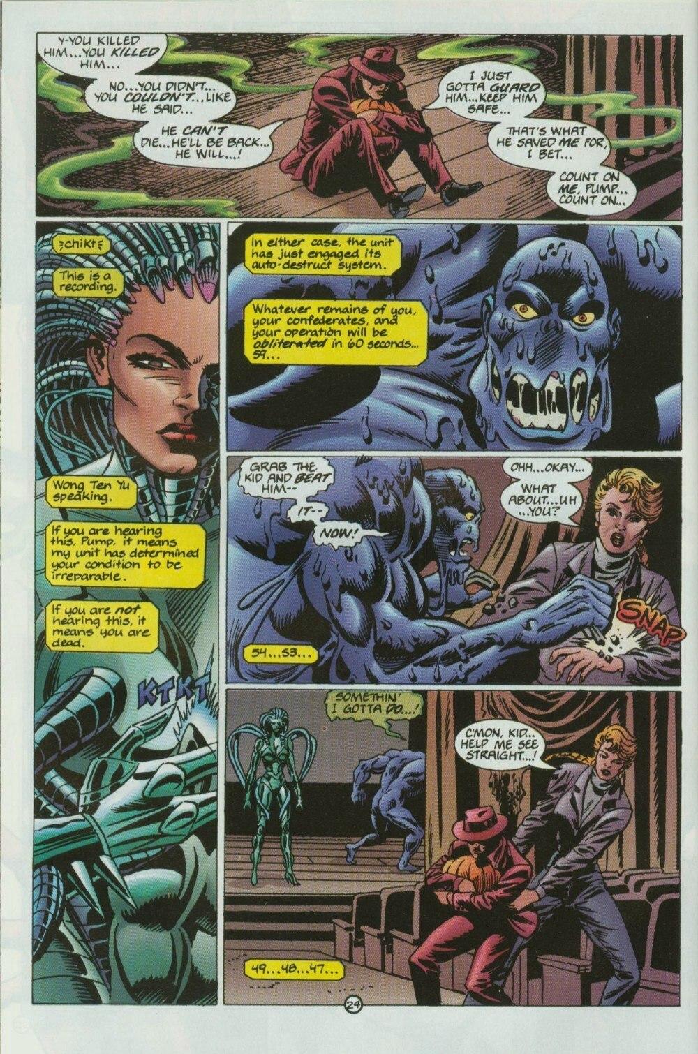 Read online Sludge comic -  Issue #9 - 28