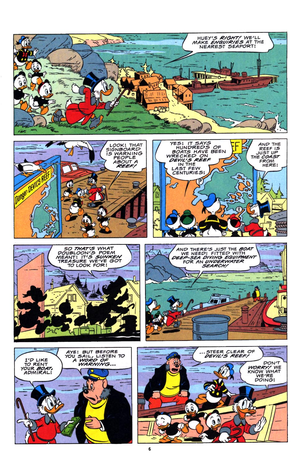 Read online Uncle Scrooge (1953) comic -  Issue #248 - 7