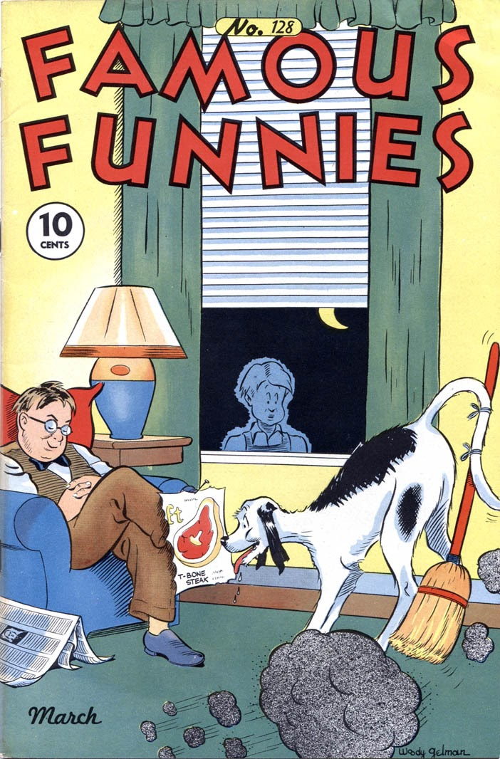 Read online Famous Funnies comic -  Issue #128 - 1
