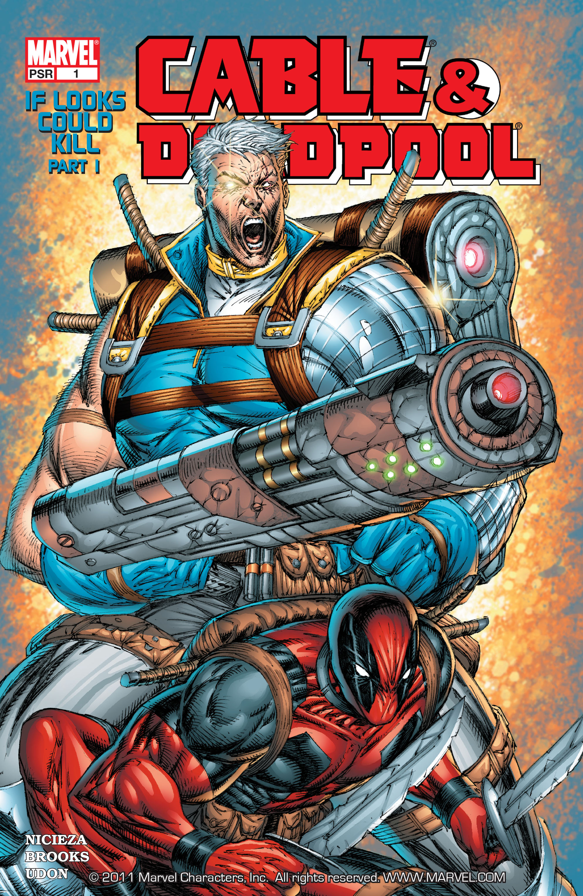 Cable and Deadpool 1 Page 1