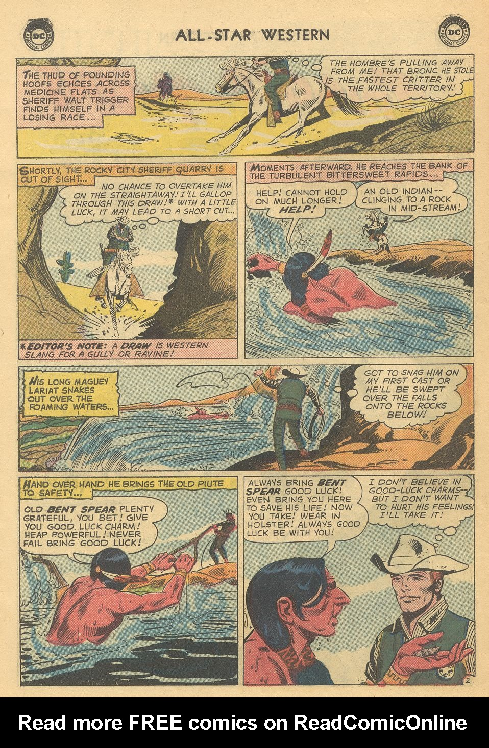 Read online All-Star Western (1951) comic -  Issue #108 - 26