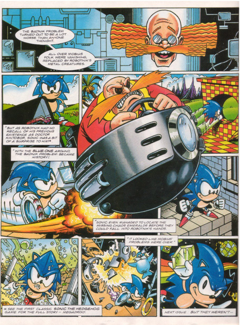 Read online Sonic the Comic comic -  Issue #26 - 23