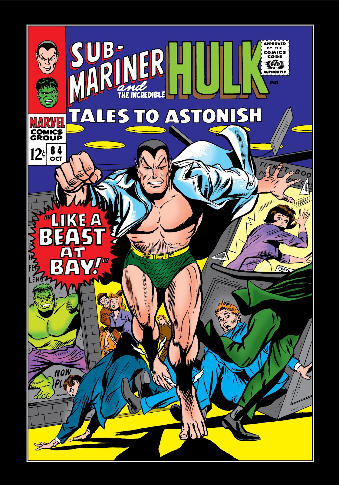 Read online Marvel Masterworks: The Incredible Hulk comic -  Issue # TPB 3 (Part 1) - 51